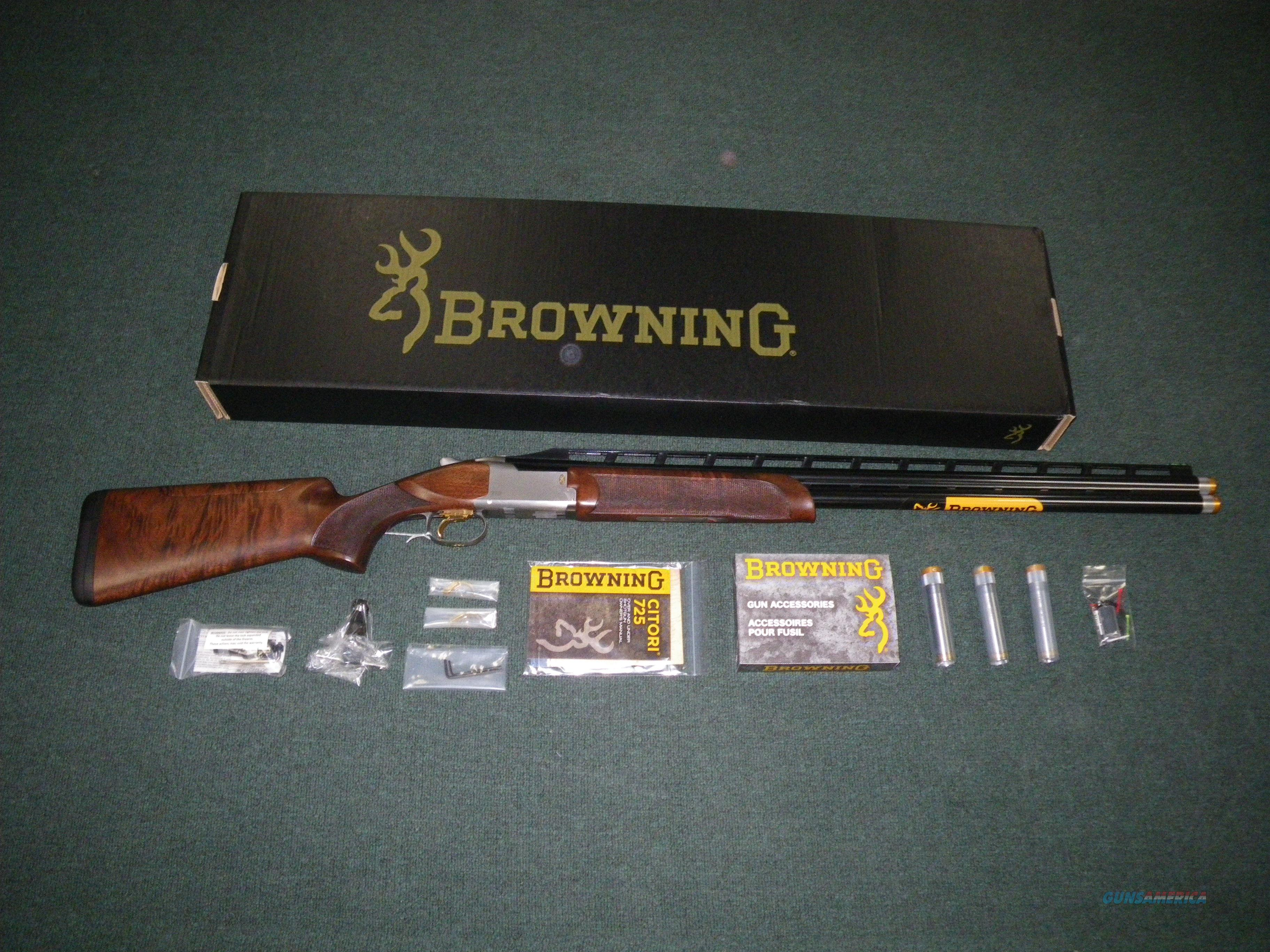 "Browning Citori 725 High Rib Sporting 12ga 32"" NEW #0136243009  Guns > Shotguns > Browning Shotguns > Over Unders > Citori > Trap/Skeet"