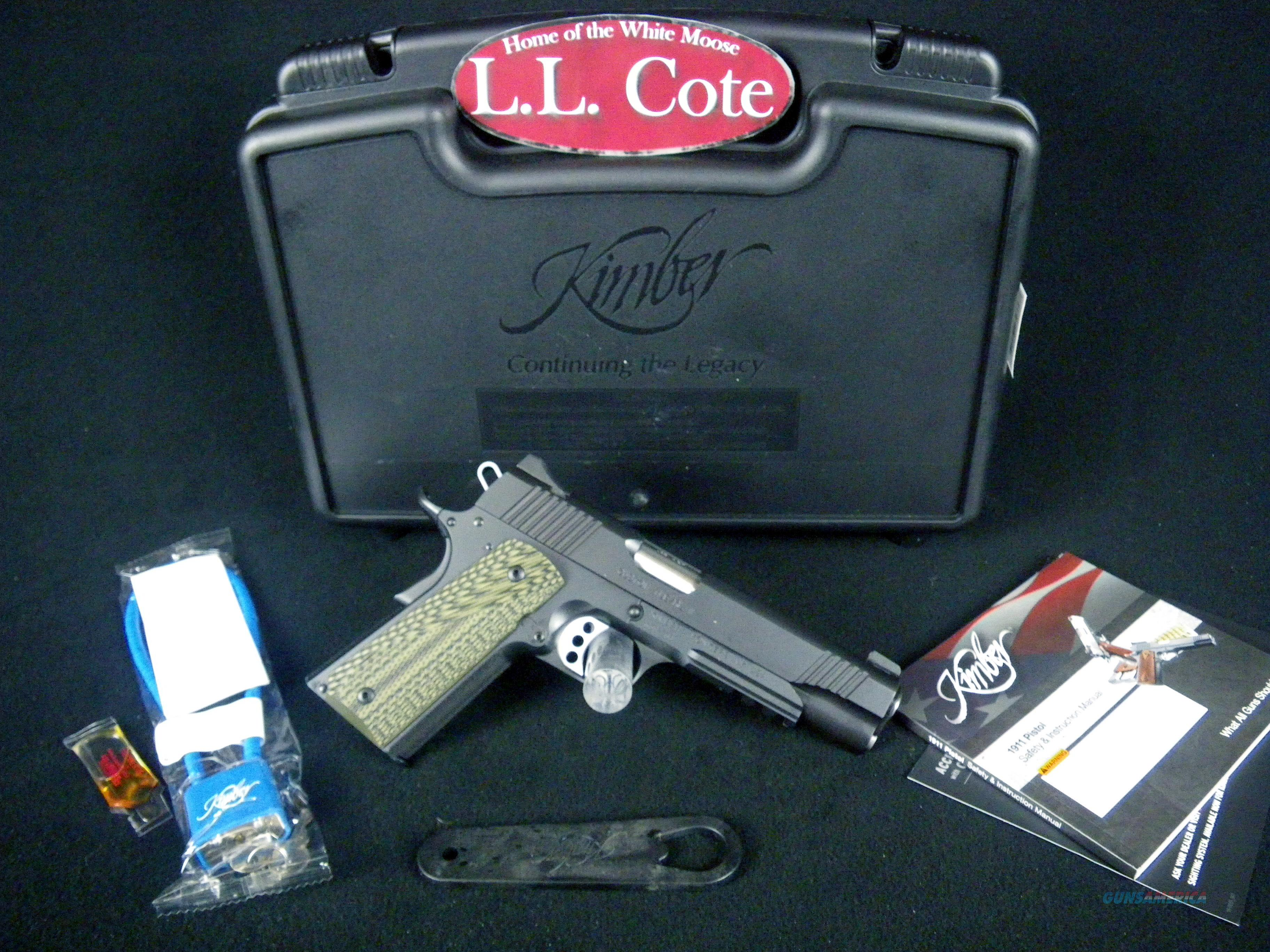 "Kimber Custom TLE/RL II 45acp 5"" NEW #3200336  Guns > Pistols > Kimber of America Pistols > 1911"