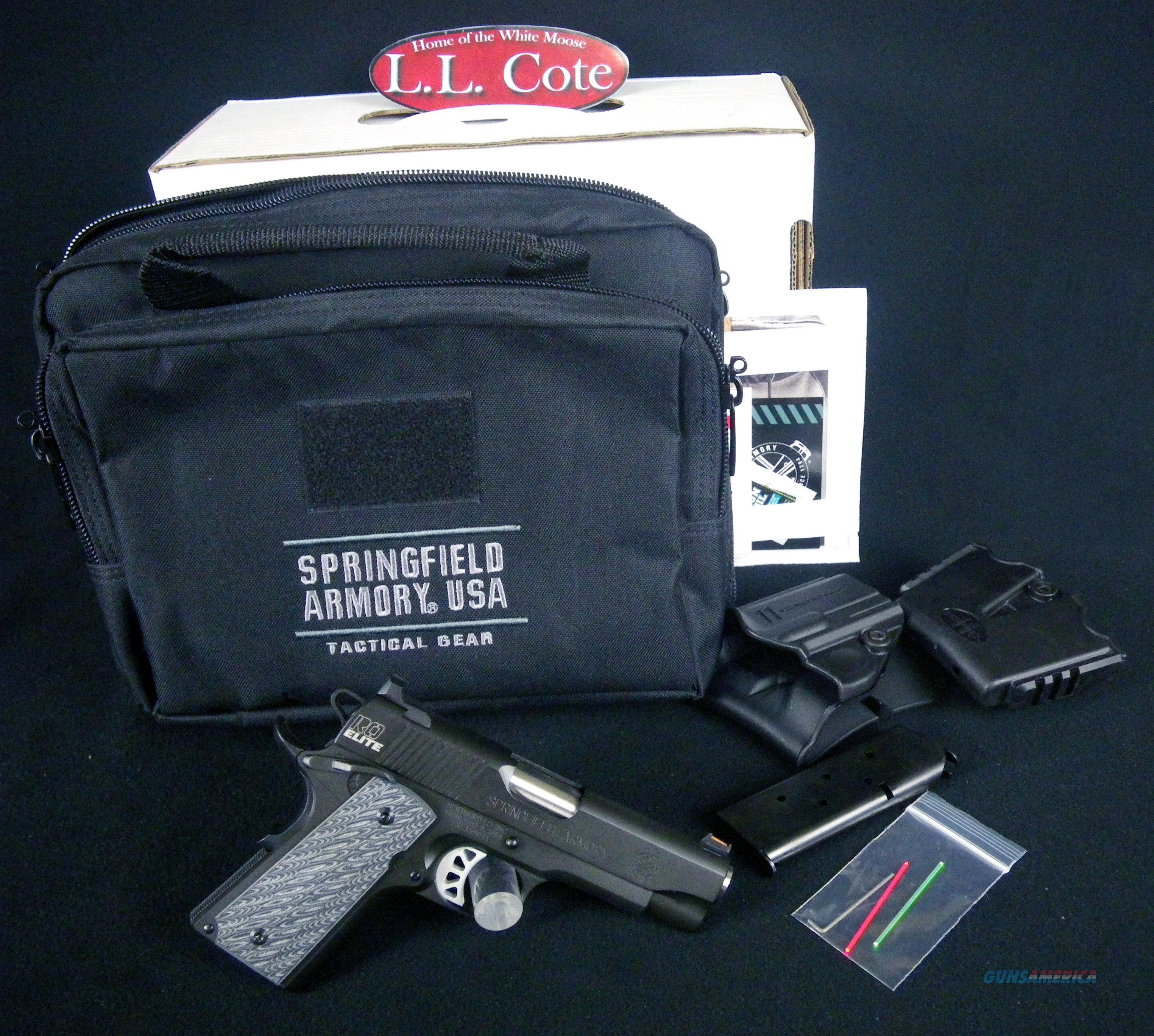 "Springfield 1911 Range Officer Elite 45ACP 4"" NEW P19126ER  Guns > Pistols > Springfield Armory Pistols > 1911 Type"