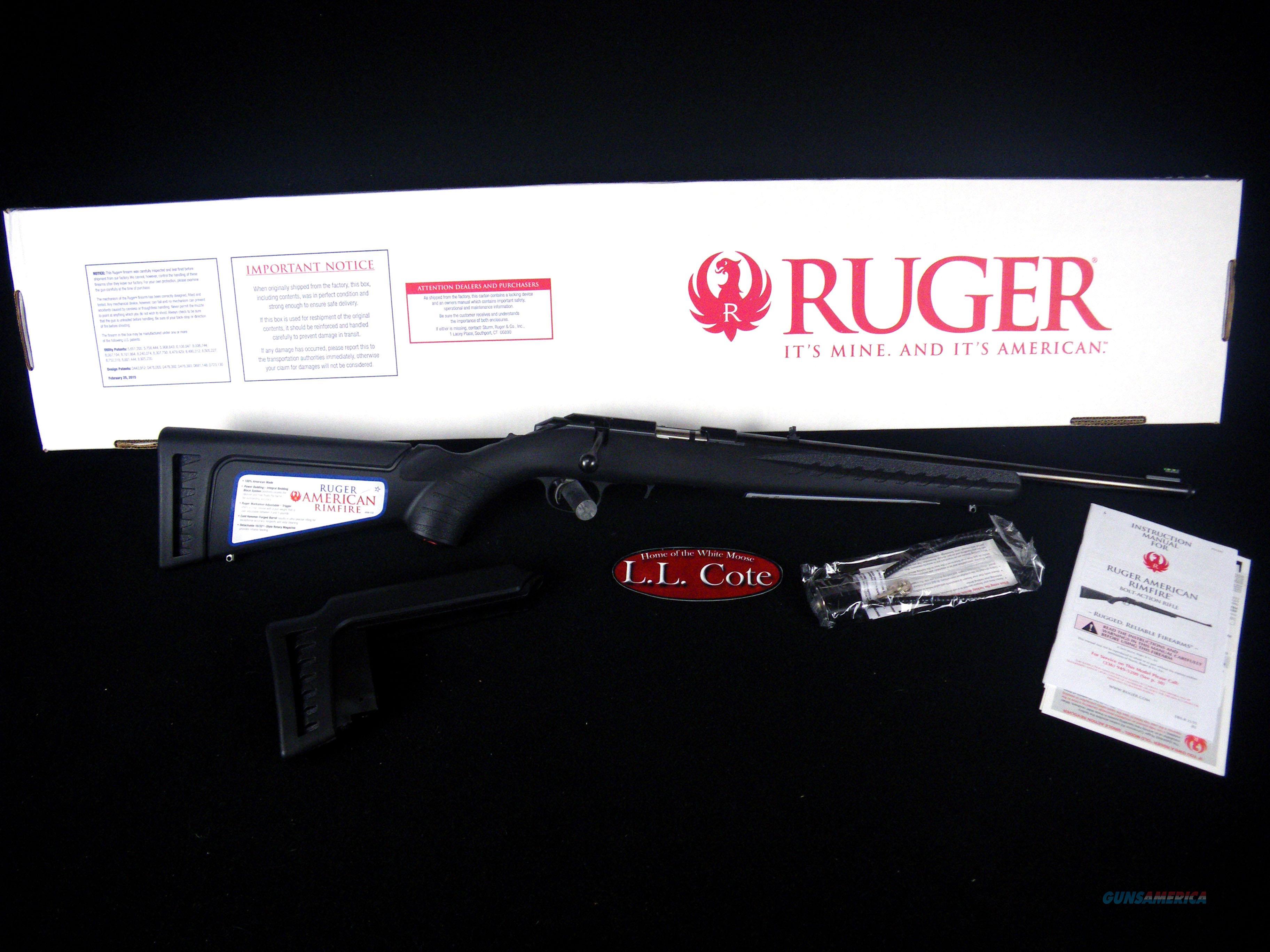 """Ruger American Rimfire 17HMR 18"""" Barrel NEW 08312  Guns > Rifles > Ruger Rifles > American Rifle"""