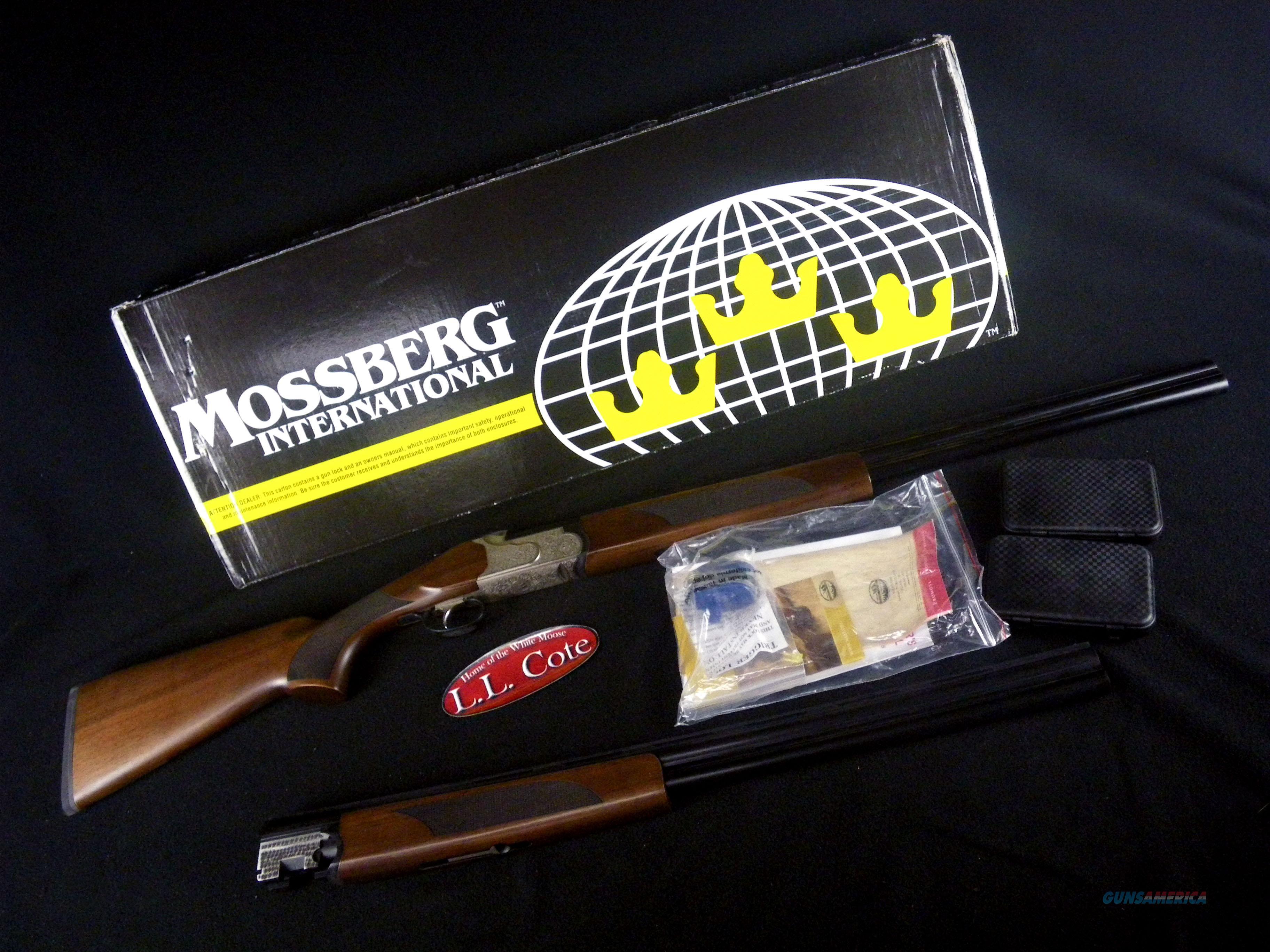 """Mossberg Silver Reserve II Combo 12ga/20ga 28"""" NEW 75442  Guns > Shotguns > Mossberg Shotguns > Over/Under"""