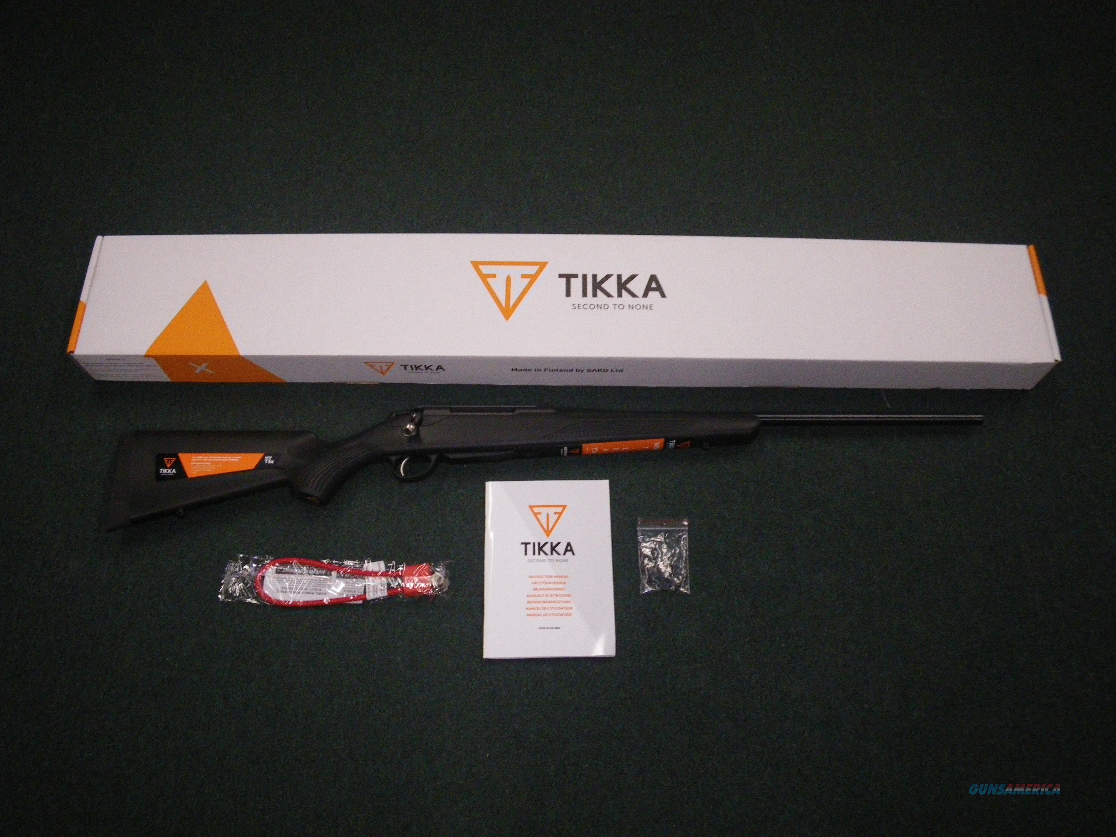 "Tikka T3x Lite Synthetic Blued 308 Win 22.4"" NEW JRTXE316  Guns > Rifles > Tikka Rifles > T3"
