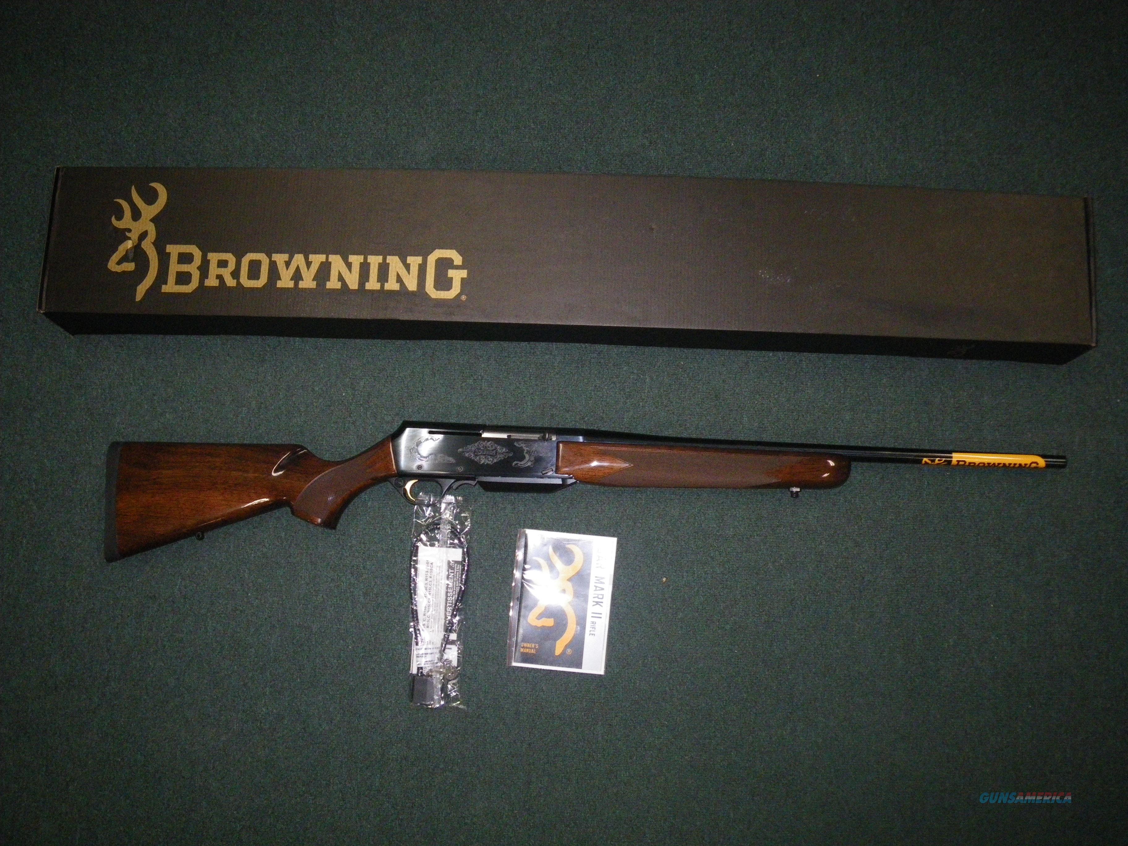 """Browning BAR Mark II Safari 25-06 Rem 24"""" NEW 031001223  Guns > Rifles > Browning Rifles > Semi Auto > Hunting"""
