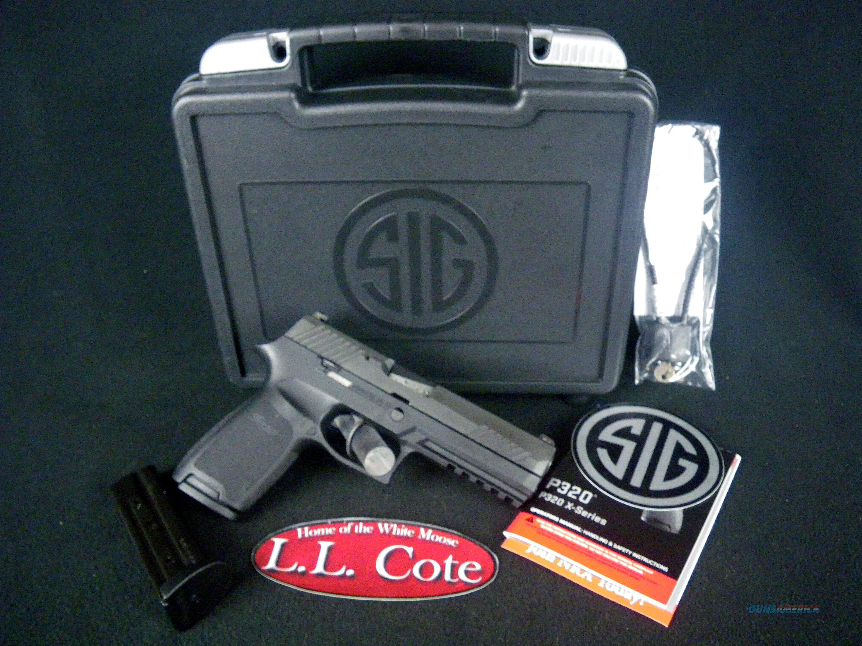 "Sig Sauer P320 Nitron 9mm 4.7"" NEW 320F-9-BSS  Guns > Pistols > Sig - Sauer/Sigarms Pistols > P320"