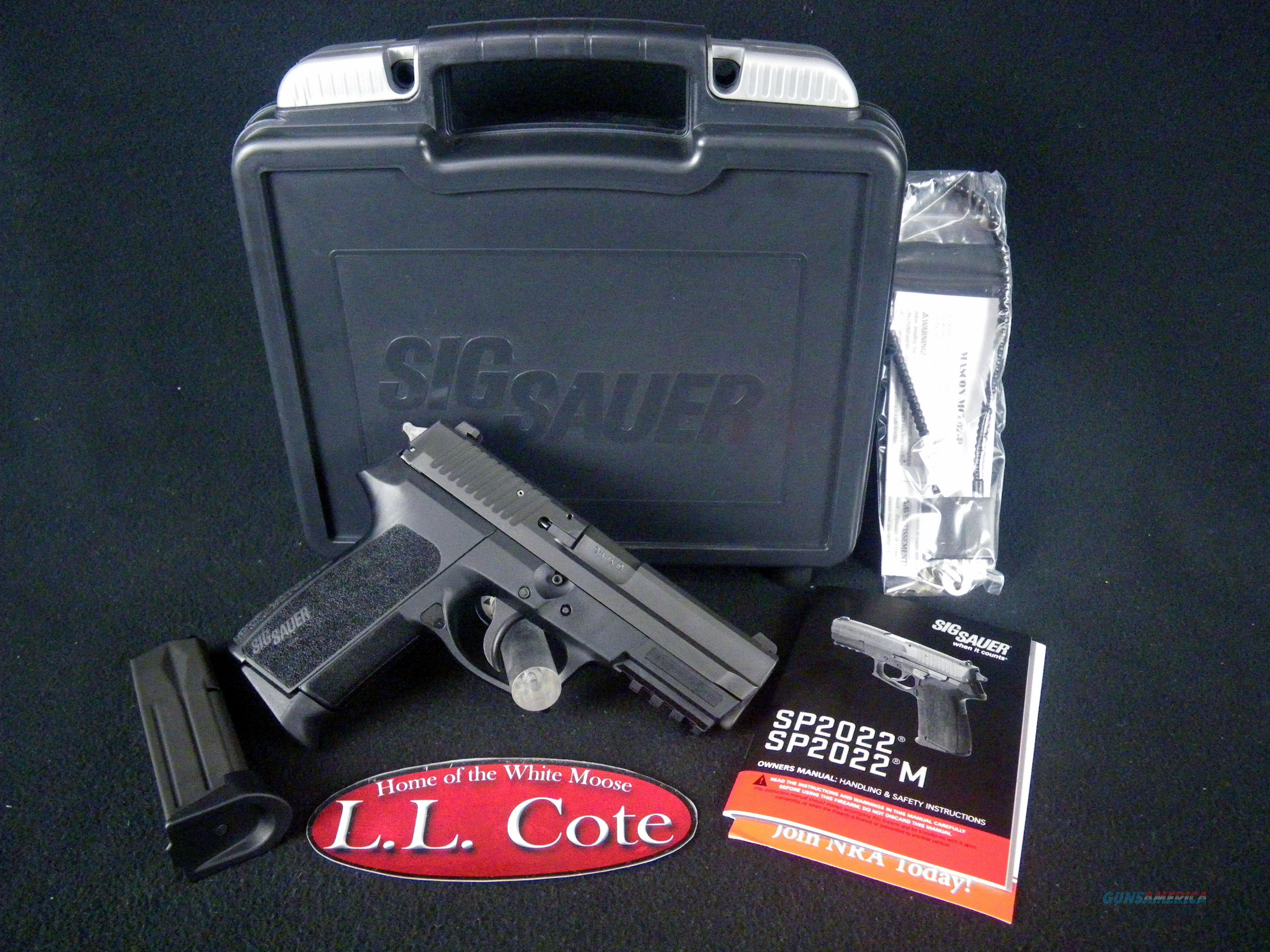 "Sig Sauer SP2022 Nitron Full Size 9mm 3.9"" NEW E2022-9-B  Guns > Pistols > Sig - Sauer/Sigarms Pistols > 2022"