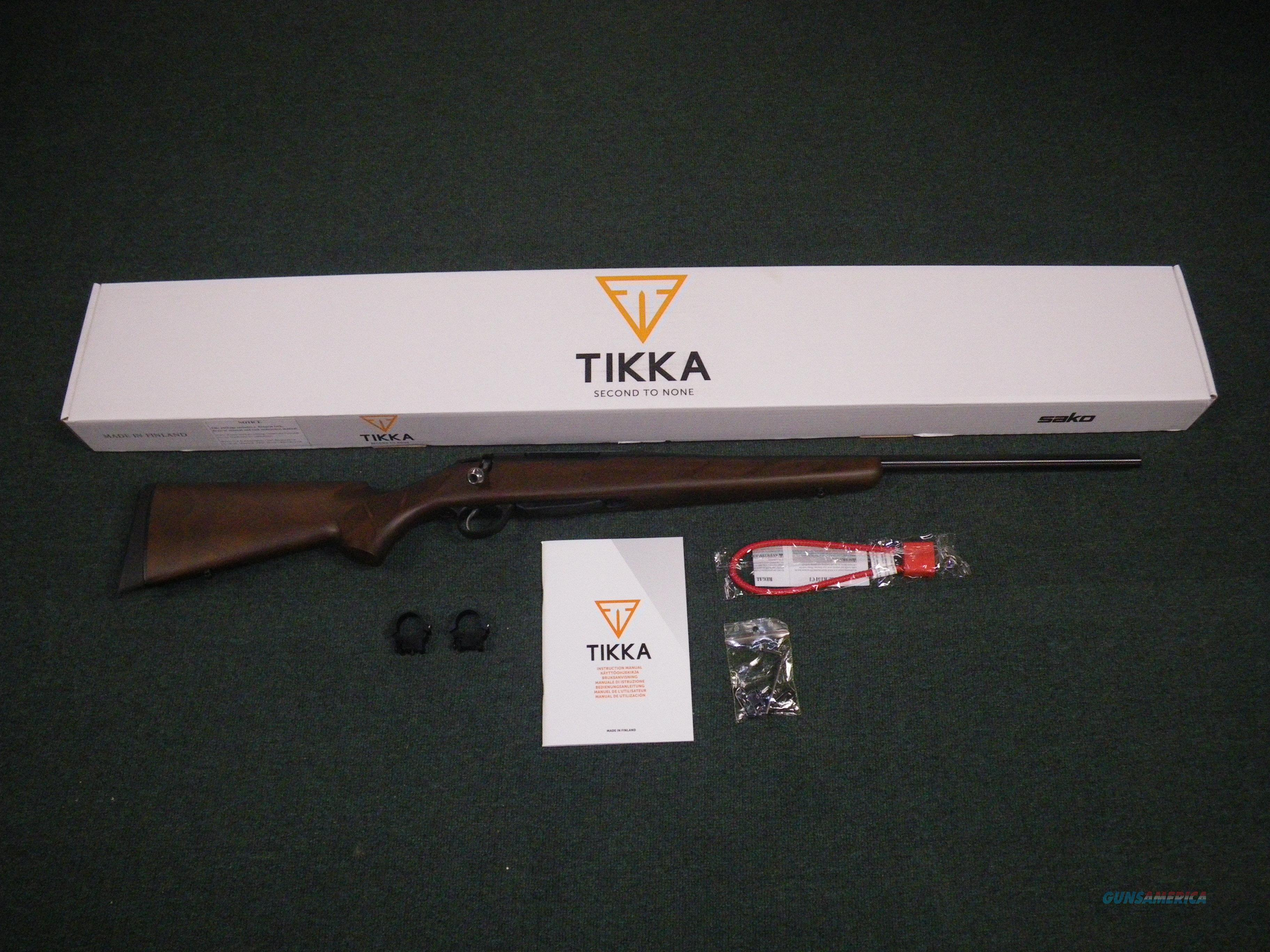 "Tikka T3 Hunter Wood 243 Win 22.4"" NEW JRTA315  Guns > Rifles > Tikka Rifles > T3"