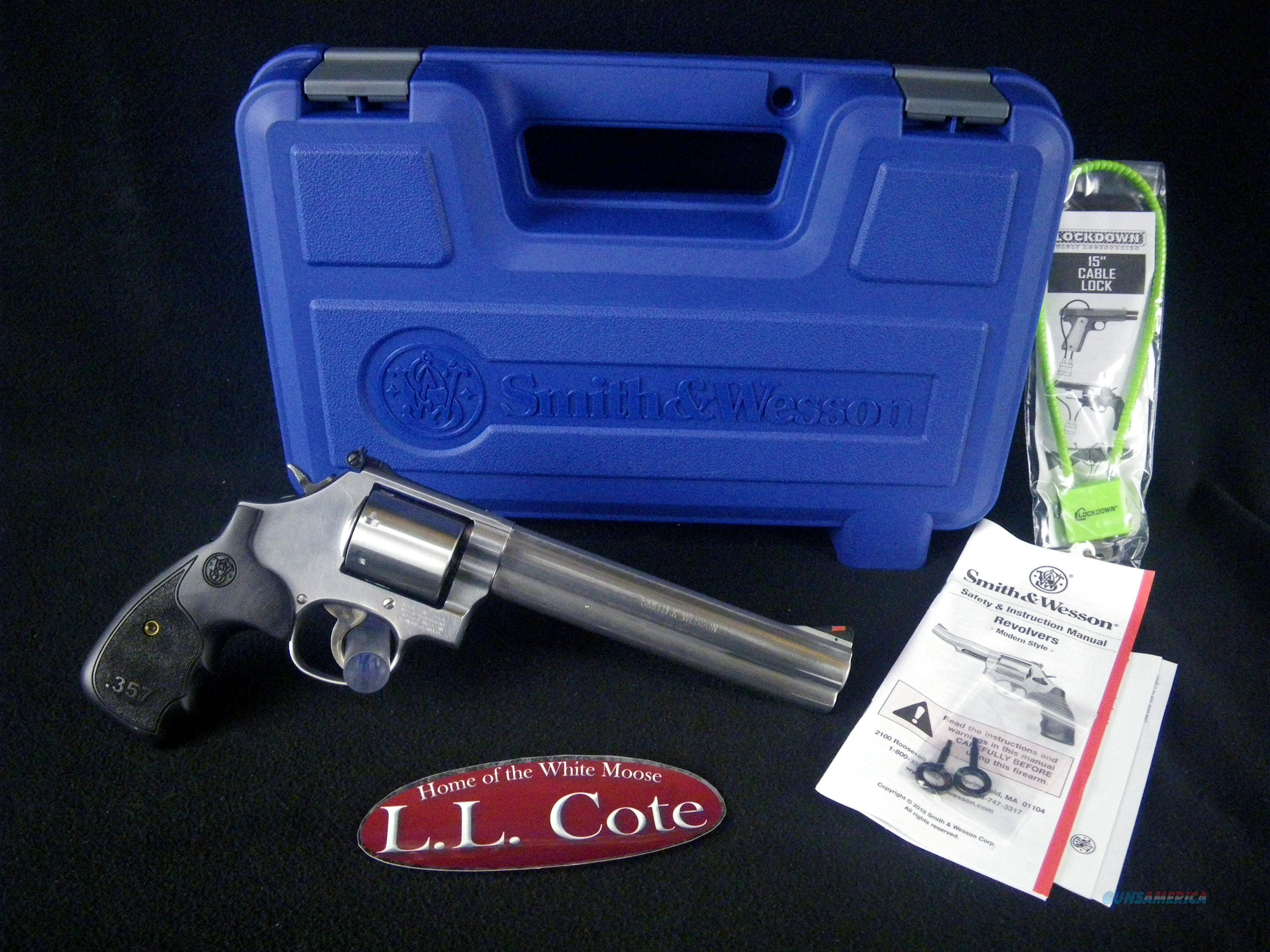 "Smith & Wesson 686 Plus 3-5-7 357mag 7"" NEW 150855  Guns > Pistols > Smith & Wesson Revolvers > Small Frame ( J )"