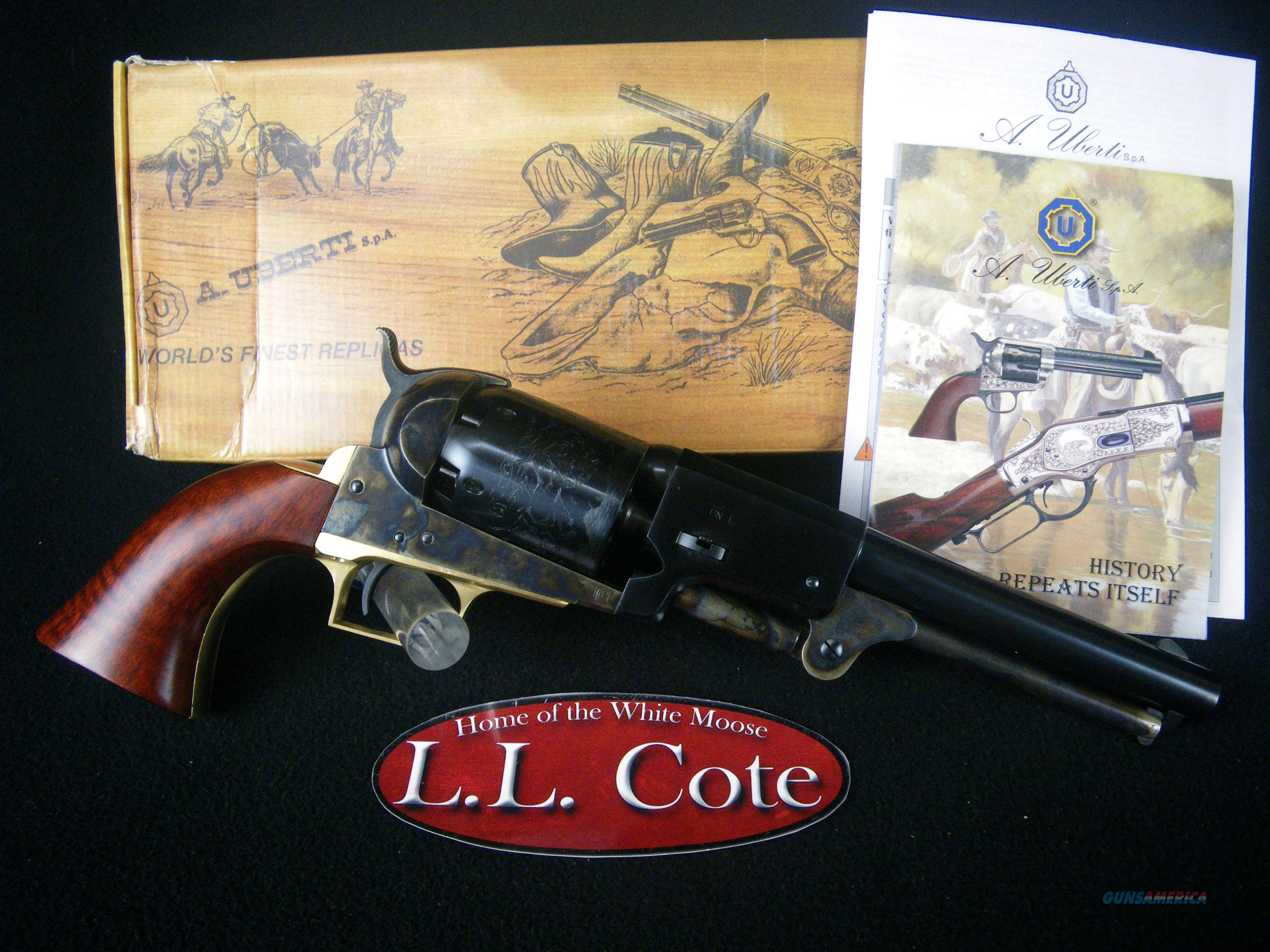 "Uberti 1848 Dragoon First Model 44cal 7.5"" NEW 340800  Guns > Pistols > Uberti Pistols > Percussion"