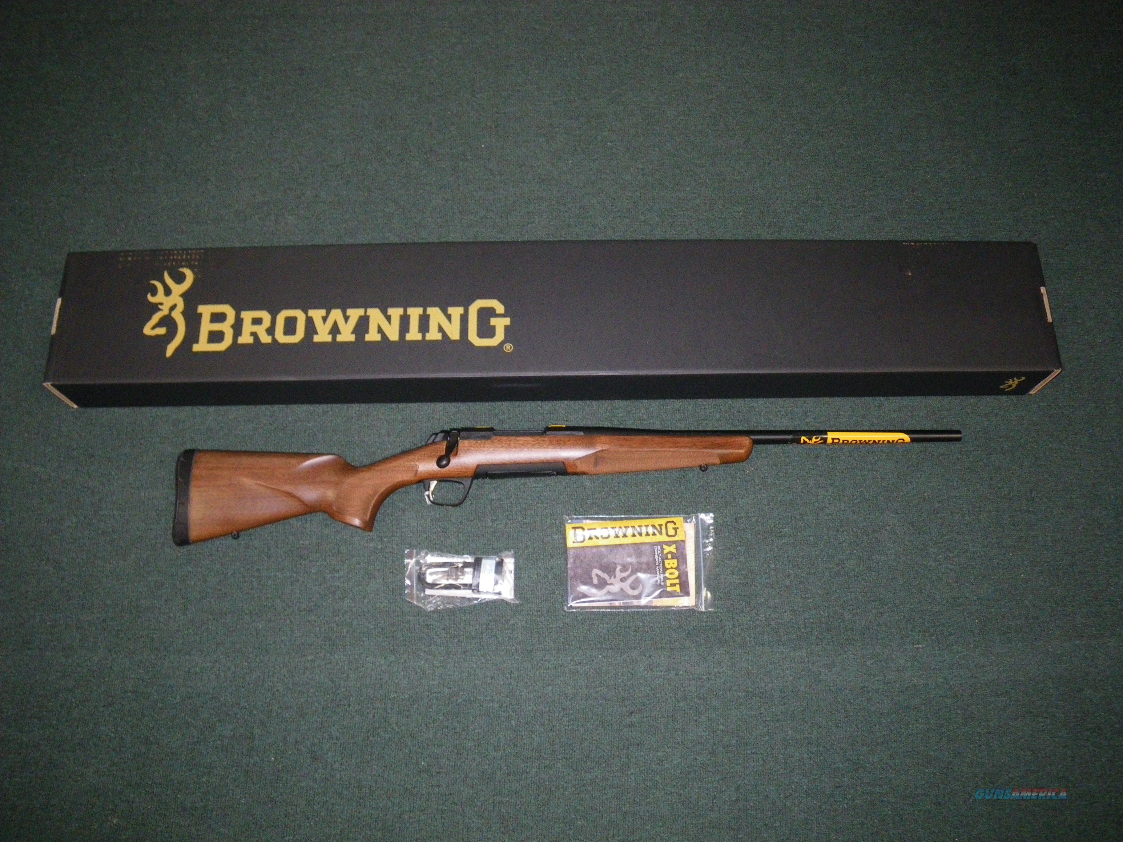 "Browning X-Bolt Hunter Micro Midas 308 Win 20"" NIB #035248218  Guns > Rifles > Browning Rifles > Bolt Action > Hunting > Blue"
