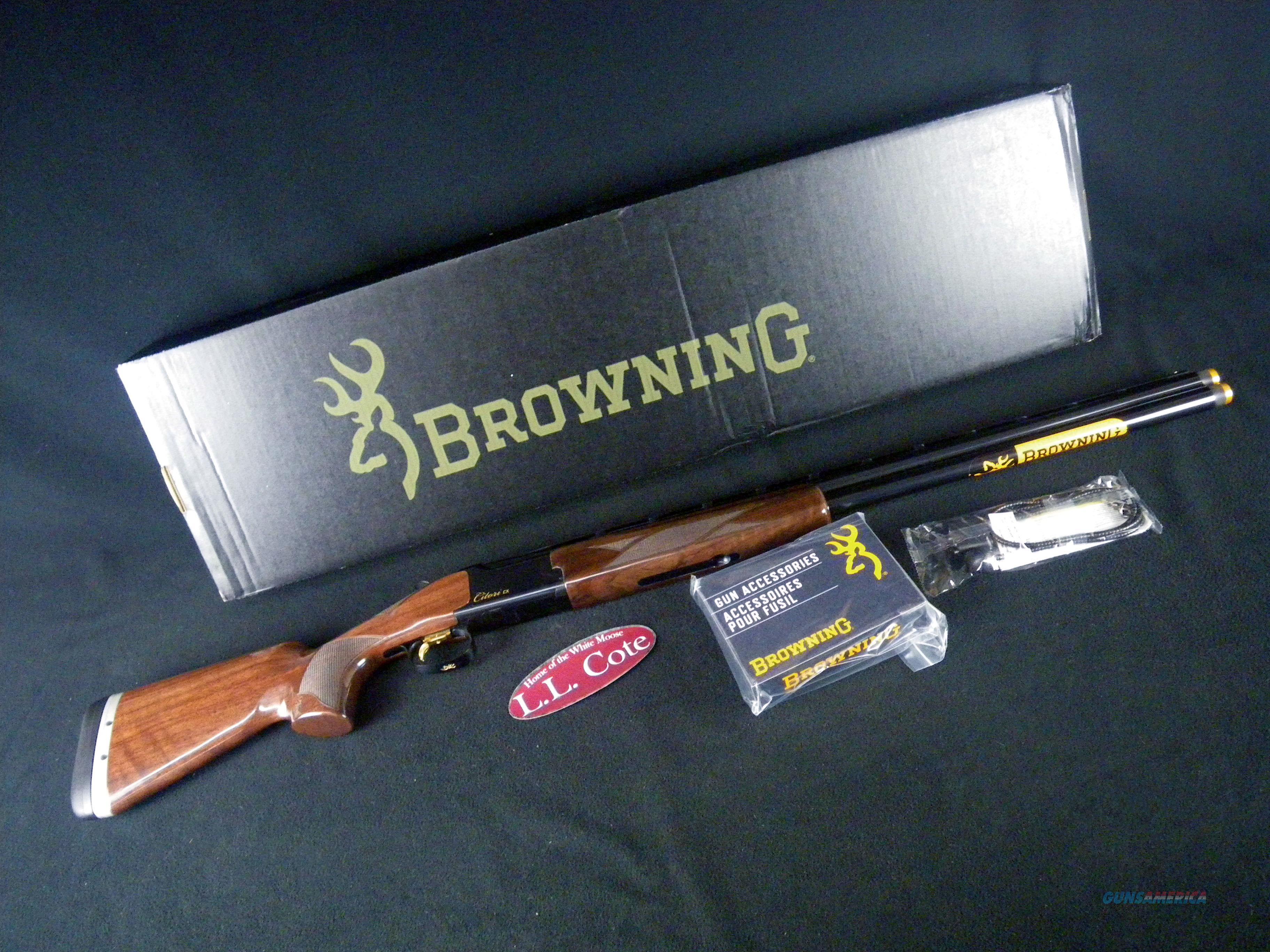 """Browning Citori CX Micro Adj LOP 12ga 30"""" NEW 3"""" 018179326  Guns > Shotguns > Browning Shotguns > Over Unders > Citori > Hunting"""