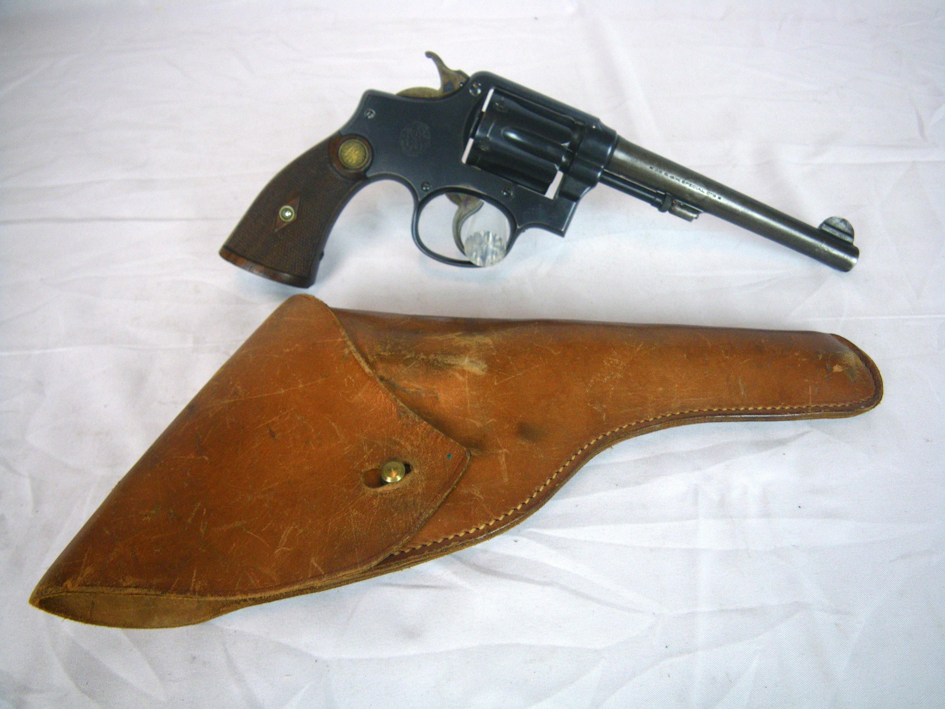 """Smith & Wesson S&W 1905 38 Spl 6"""" 1st Version #403901  Guns > Pistols > Smith & Wesson Revolvers > Pre-1945"""