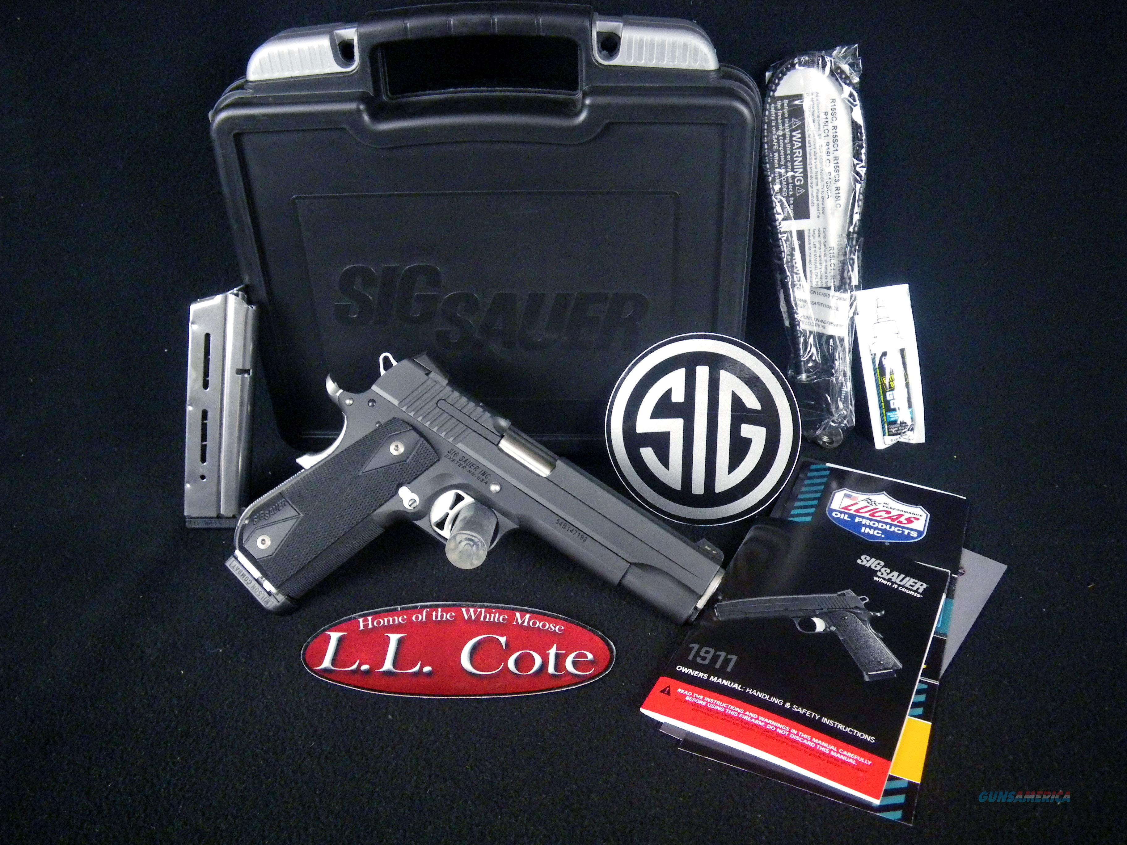 "Sig Sauer 1911 Fastback Nightmare 357 Sig 4.2"" NEW 1911F-357-NMR  Guns > Pistols > Sig - Sauer/Sigarms Pistols > 1911"
