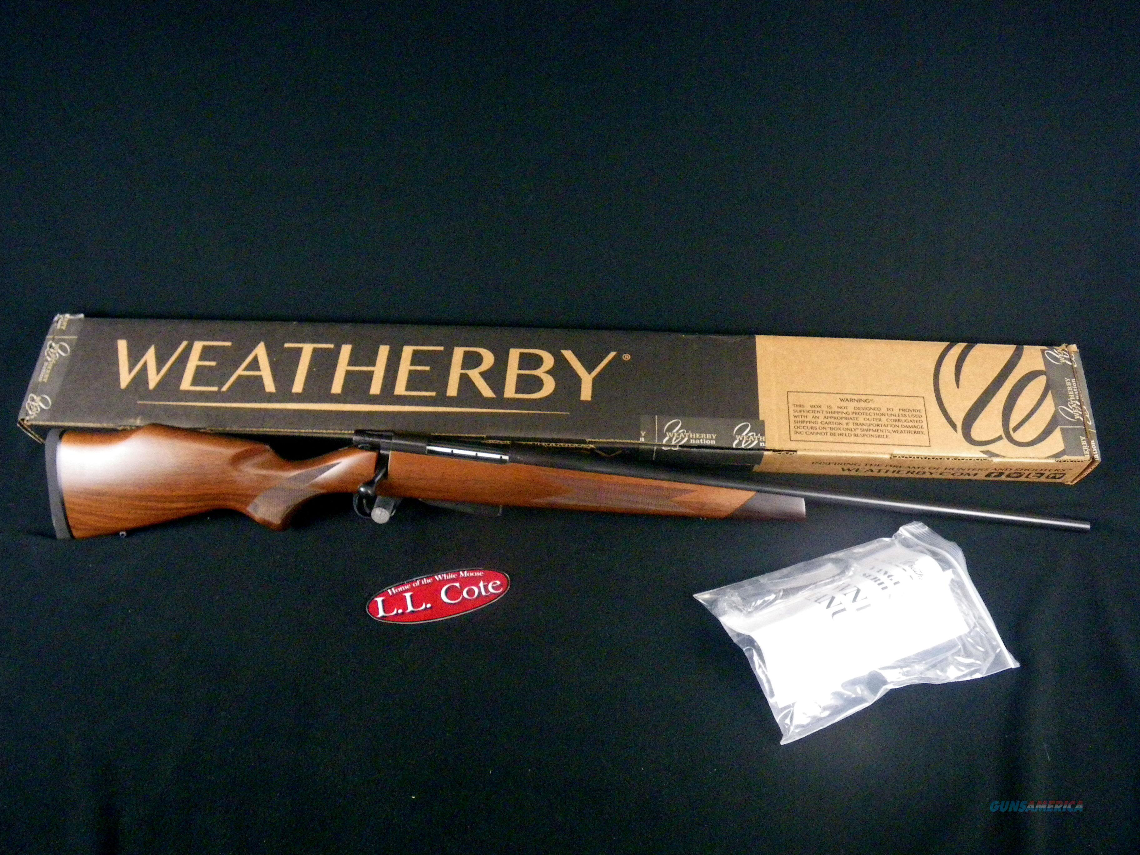 "Weatherby Vanguard S2 Sporter DBM 270win 24"" NEW VAW270NR4O  Guns > Rifles > Weatherby Rifles > Sporting"