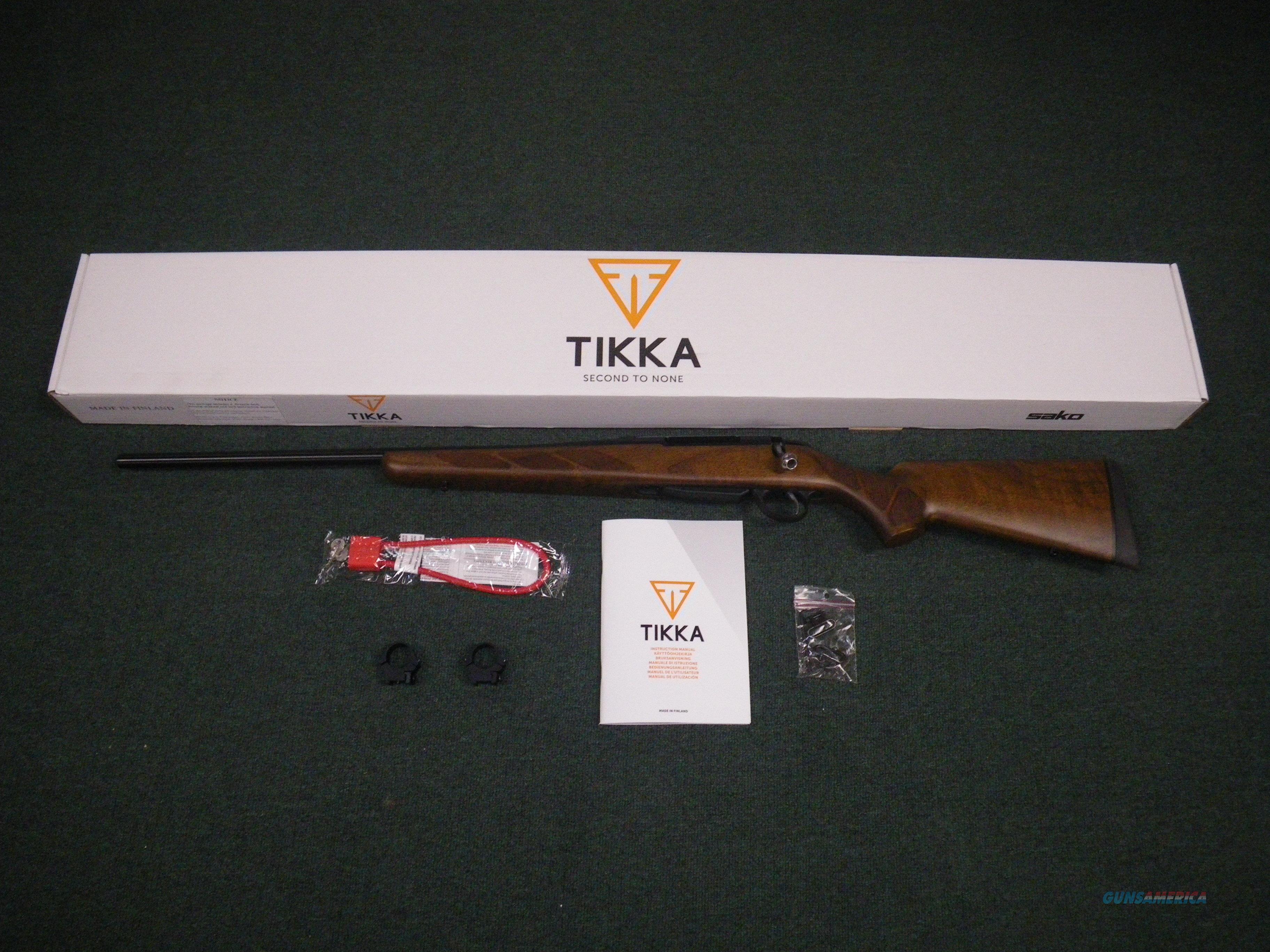 """Tikka T3 Hunter LH Wood 7mm Rem Mag 24.3"""" NEW JRTA370L  Guns > Rifles > Tikka Rifles > T3"""
