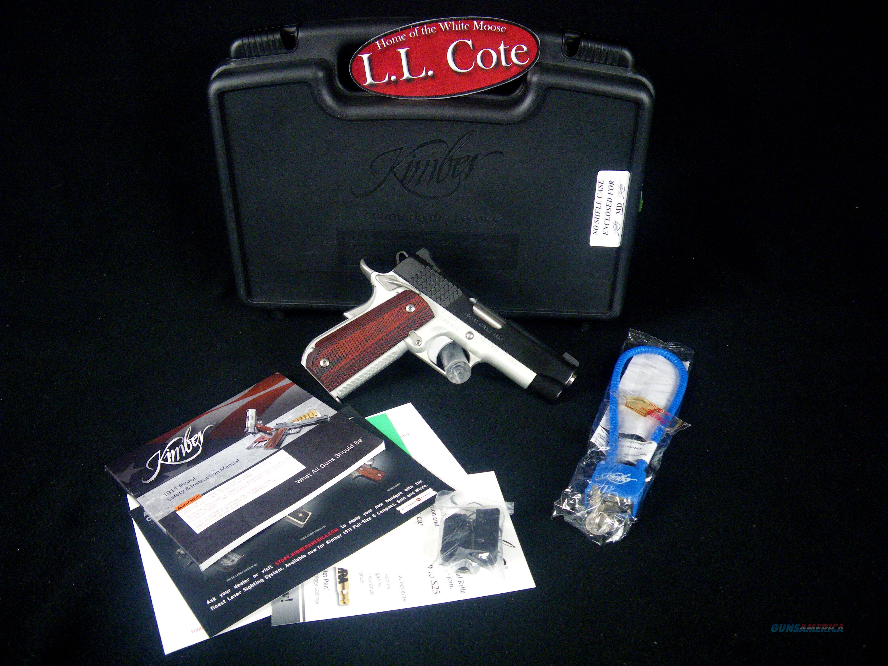 "Kimber Super Carry Pro 45acp 4"" NEW 3000247  Guns > Pistols > Kimber of America Pistols > 1911"