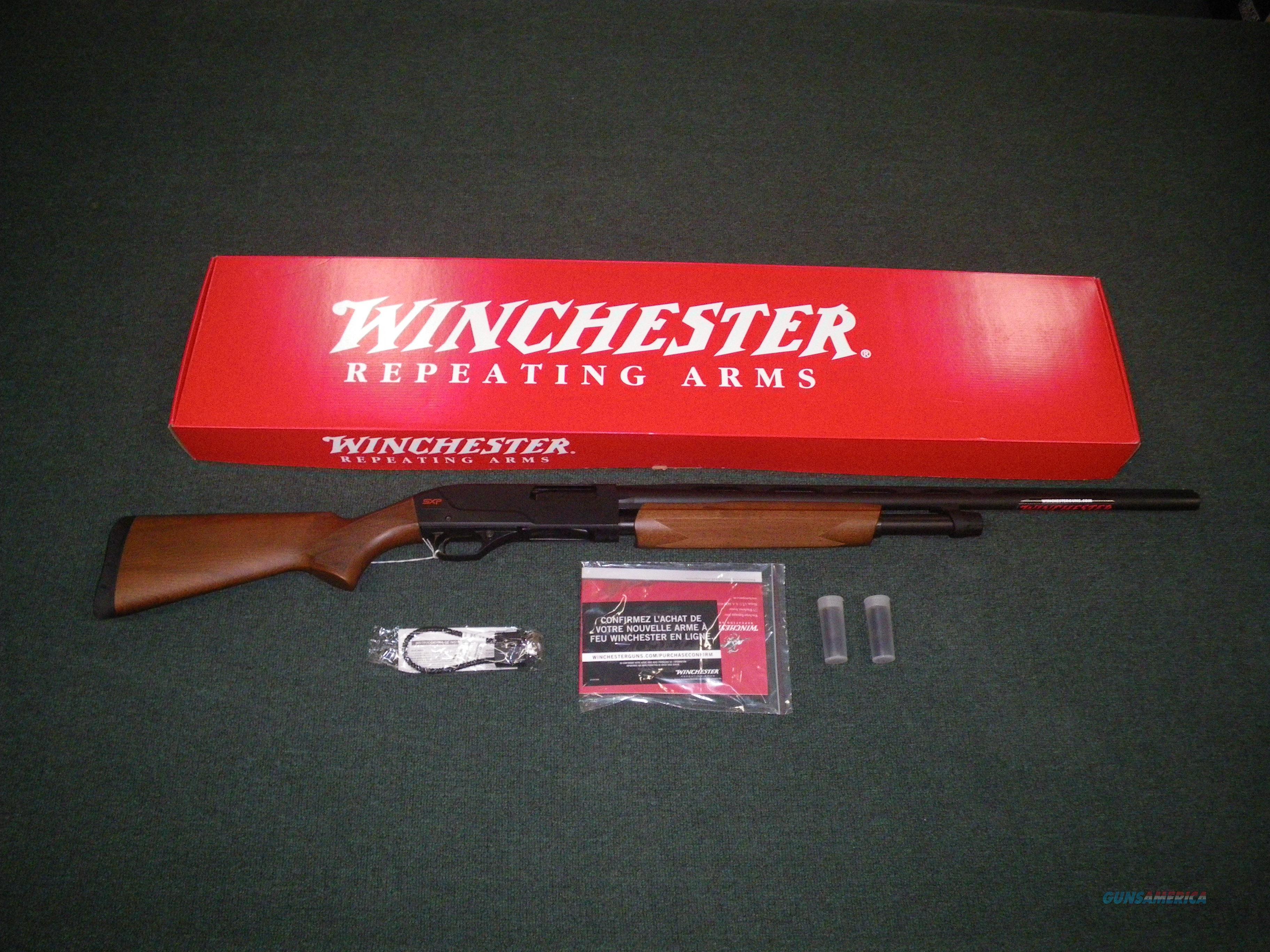 "Winchester Super X Pump SXP Field 20ga 26"" 3"" NEW #512266691  Guns > Shotguns > Winchester Shotguns - Modern > Pump Action > Hunting"