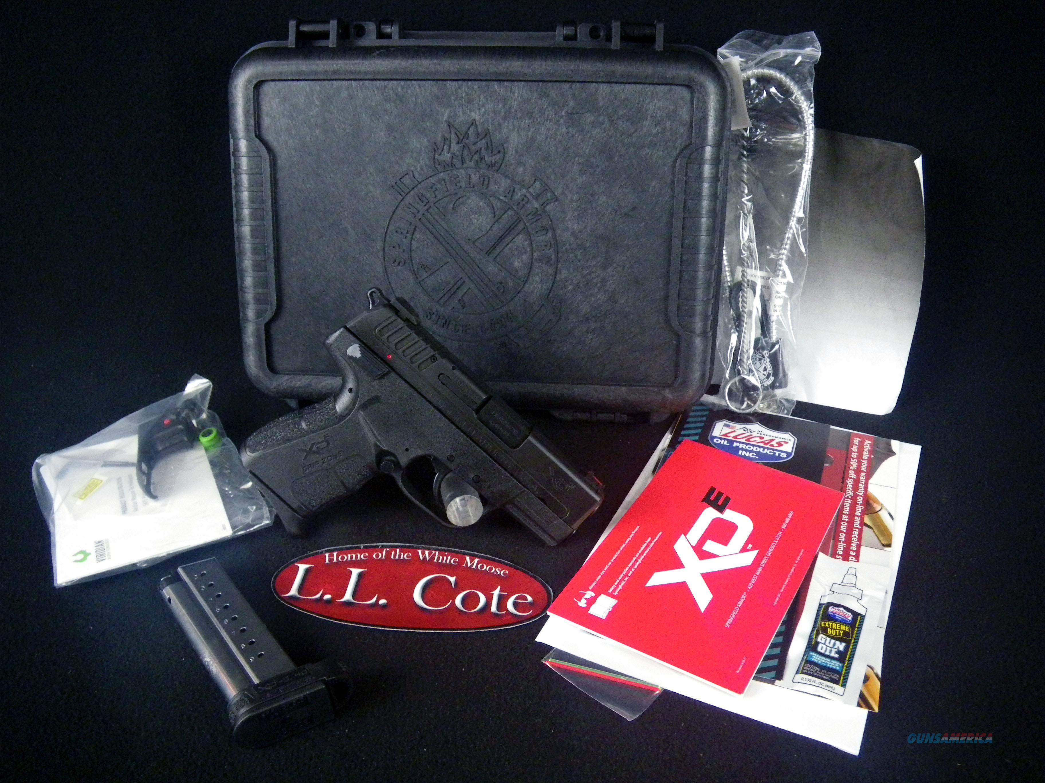 "Springfield XD-E Single Stack Black 9mm 3.3"" NEW XDE9339BVR  Guns > Pistols > Springfield Armory Pistols > XD-E"