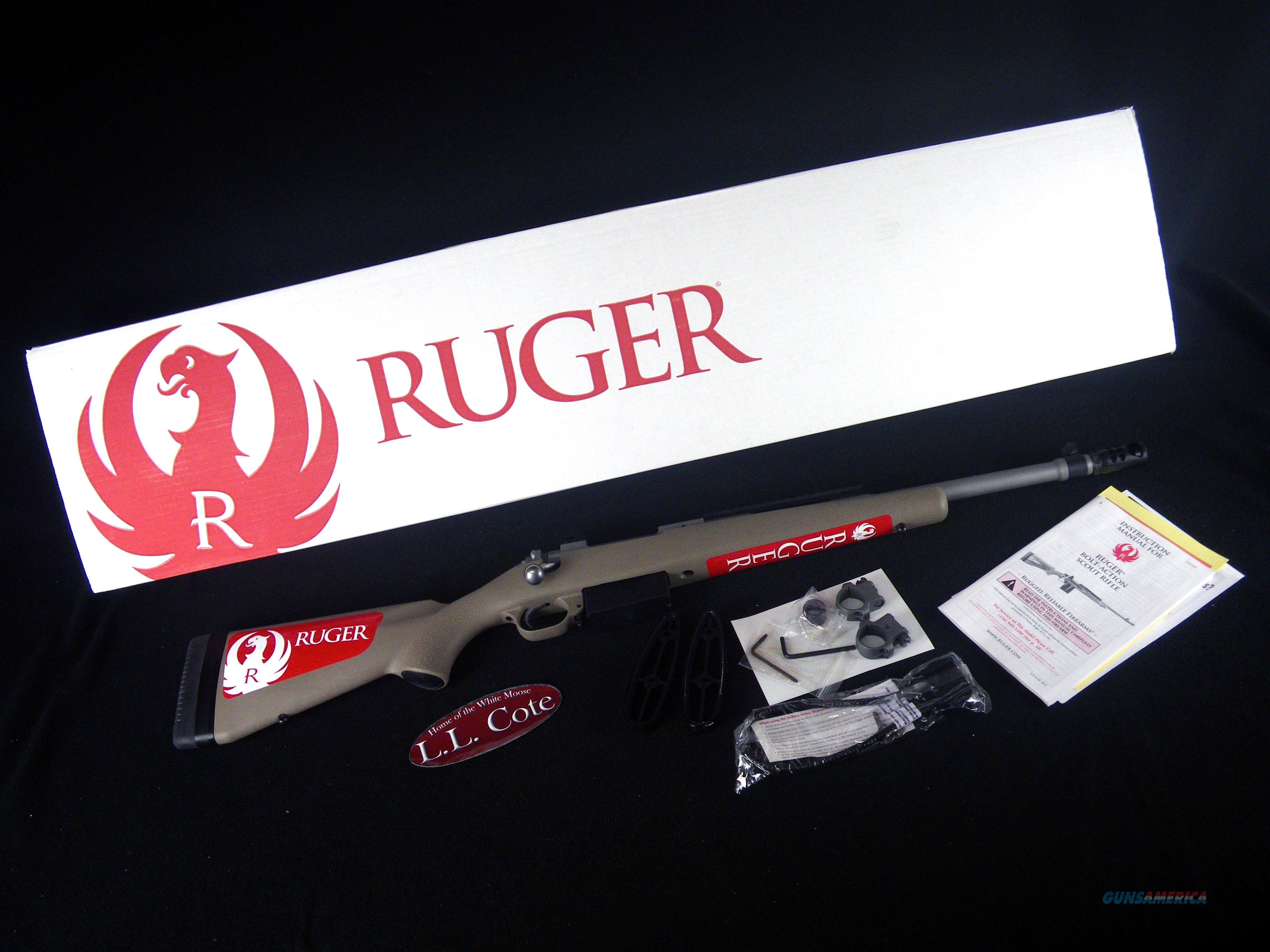 "Ruger Scout Rifle 450 Bushmaster 16.1"" NEW 6839  Guns > Rifles > Ruger Rifles > Precision Rifle Series"