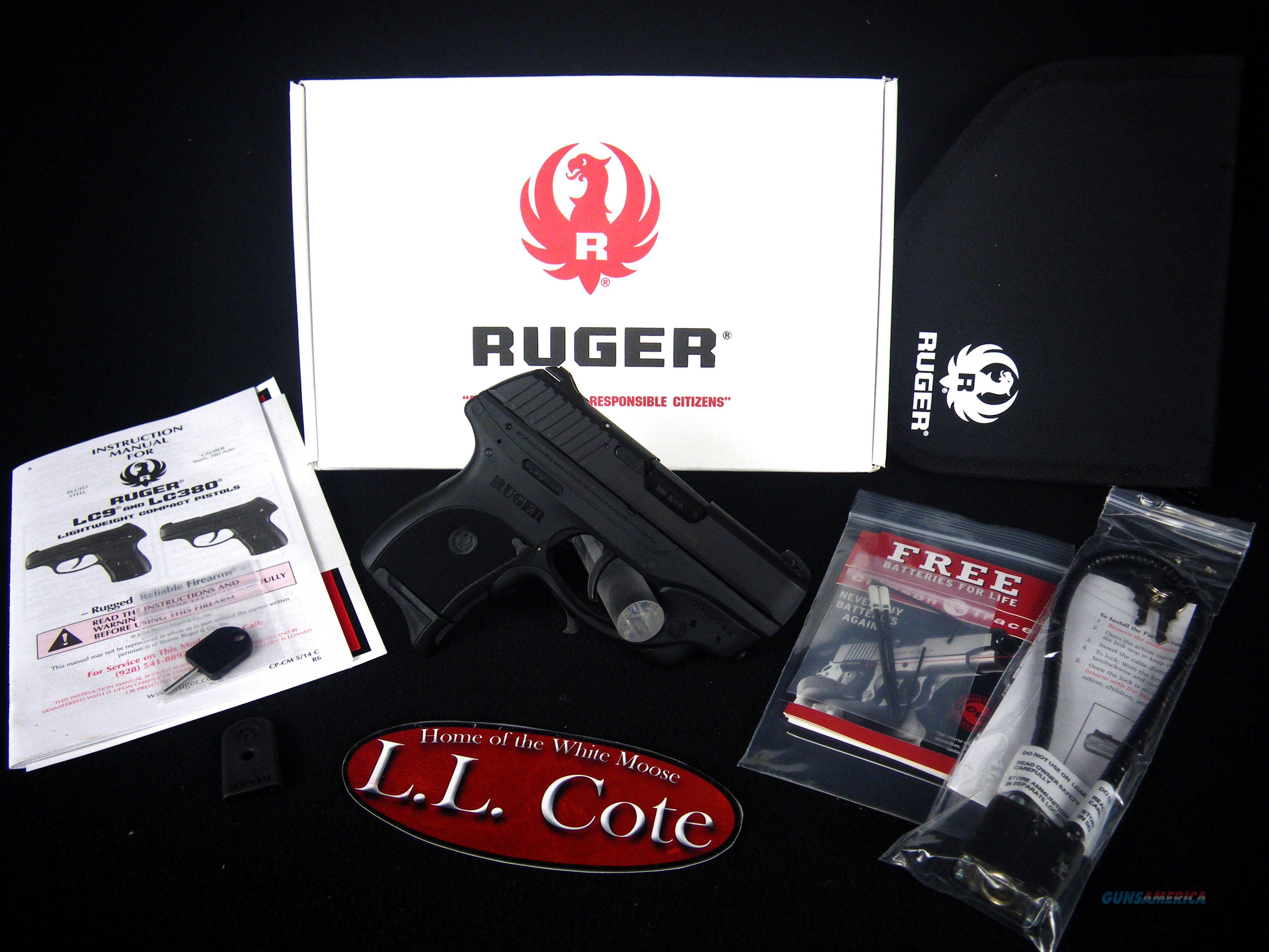 """Ruger LC380 Crimson Trace 380ACP 3.12"""" NEW 3230  Guns > Pistols > Ruger Semi-Auto Pistols > LC380"""
