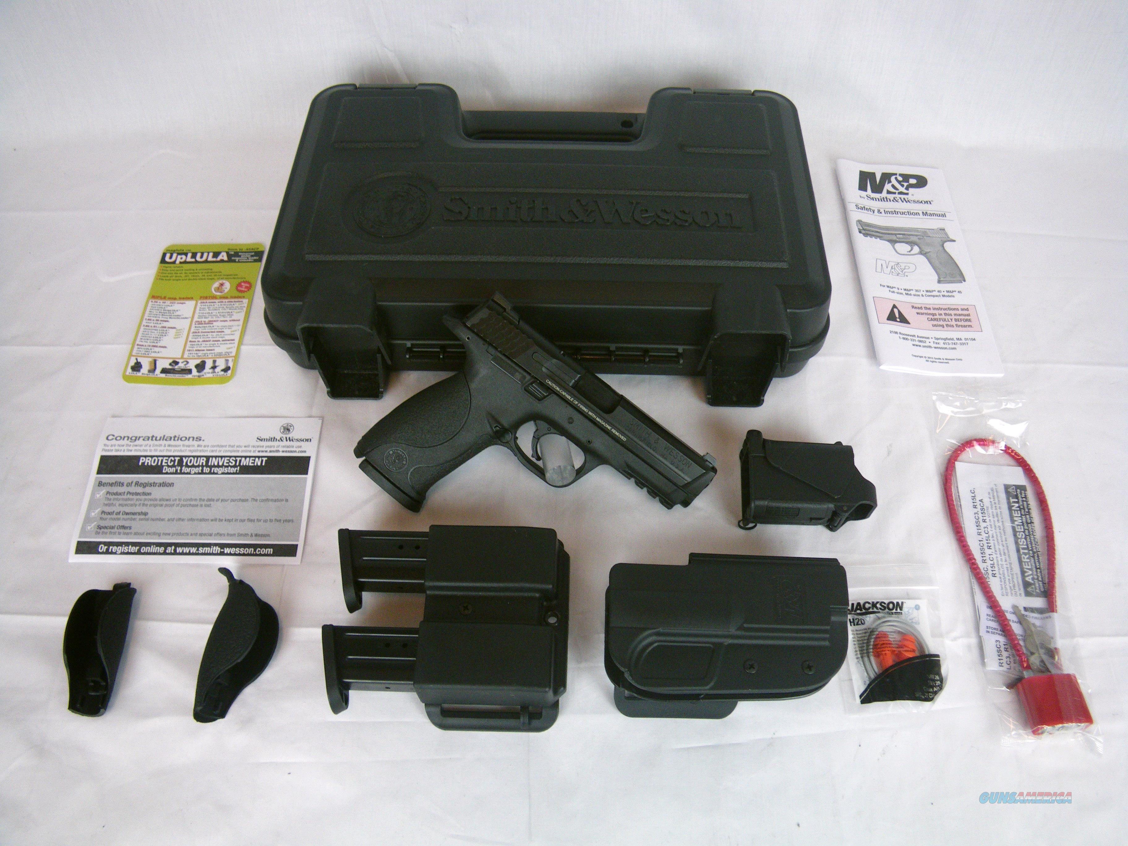 """Smith & Wesson M&P9 Carry & Range 9mm 4.25"""" NEW #209331  Guns > Pistols > Smith & Wesson Pistols - Autos > Polymer Frame"""