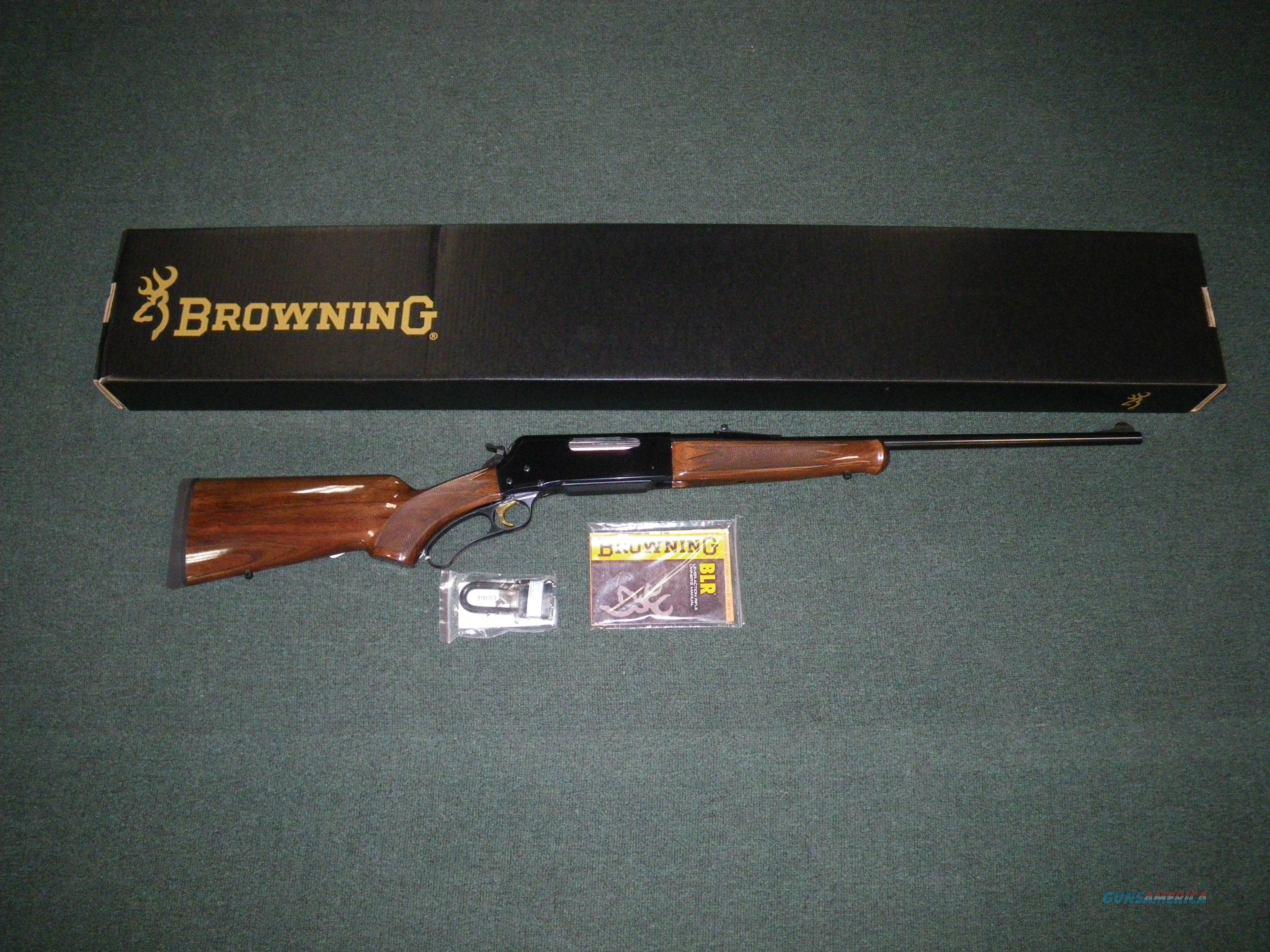 "Browning BLR Lightweight Pistol Grip 7mm Rem Mag 24"" Item #034009127  Guns > Rifles > Browning Rifles > Lever Action"
