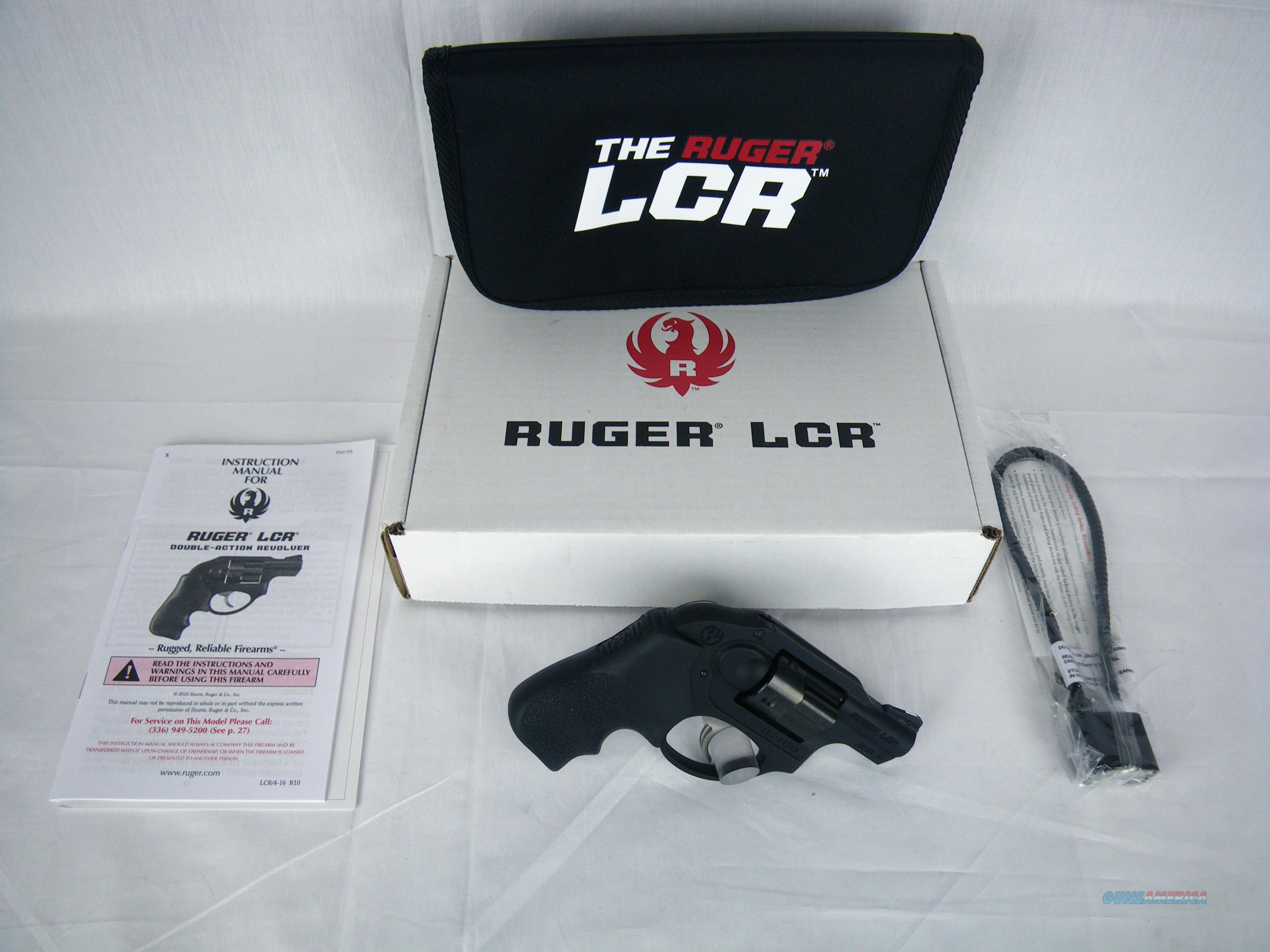 "Ruger LCR Revolver 38 Spl +P 1.87"" NEW #5401  Guns > Pistols > Ruger Double Action Revolver > LCR"
