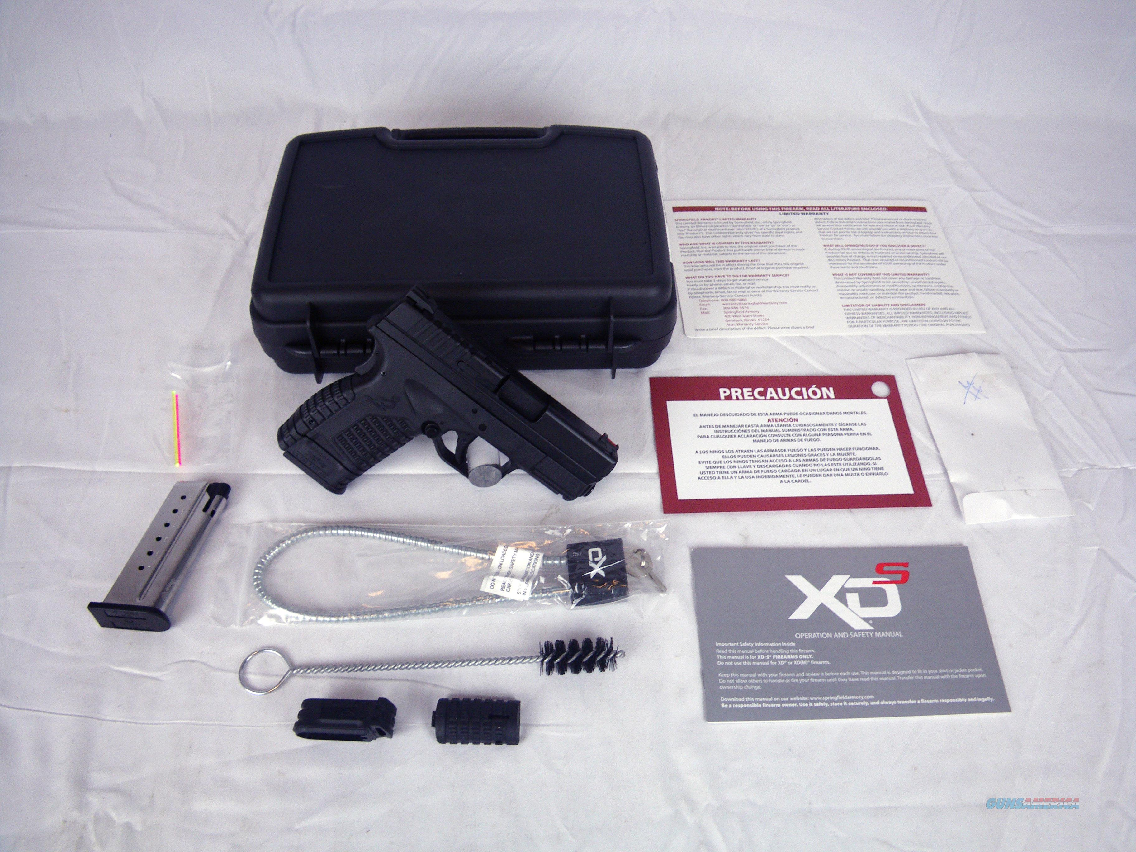 """Springfield Armory XDS Single Stack 9mm 3.3"""" NEW #XDS9339BE  Guns > Pistols > Springfield Armory Pistols > XD-S"""