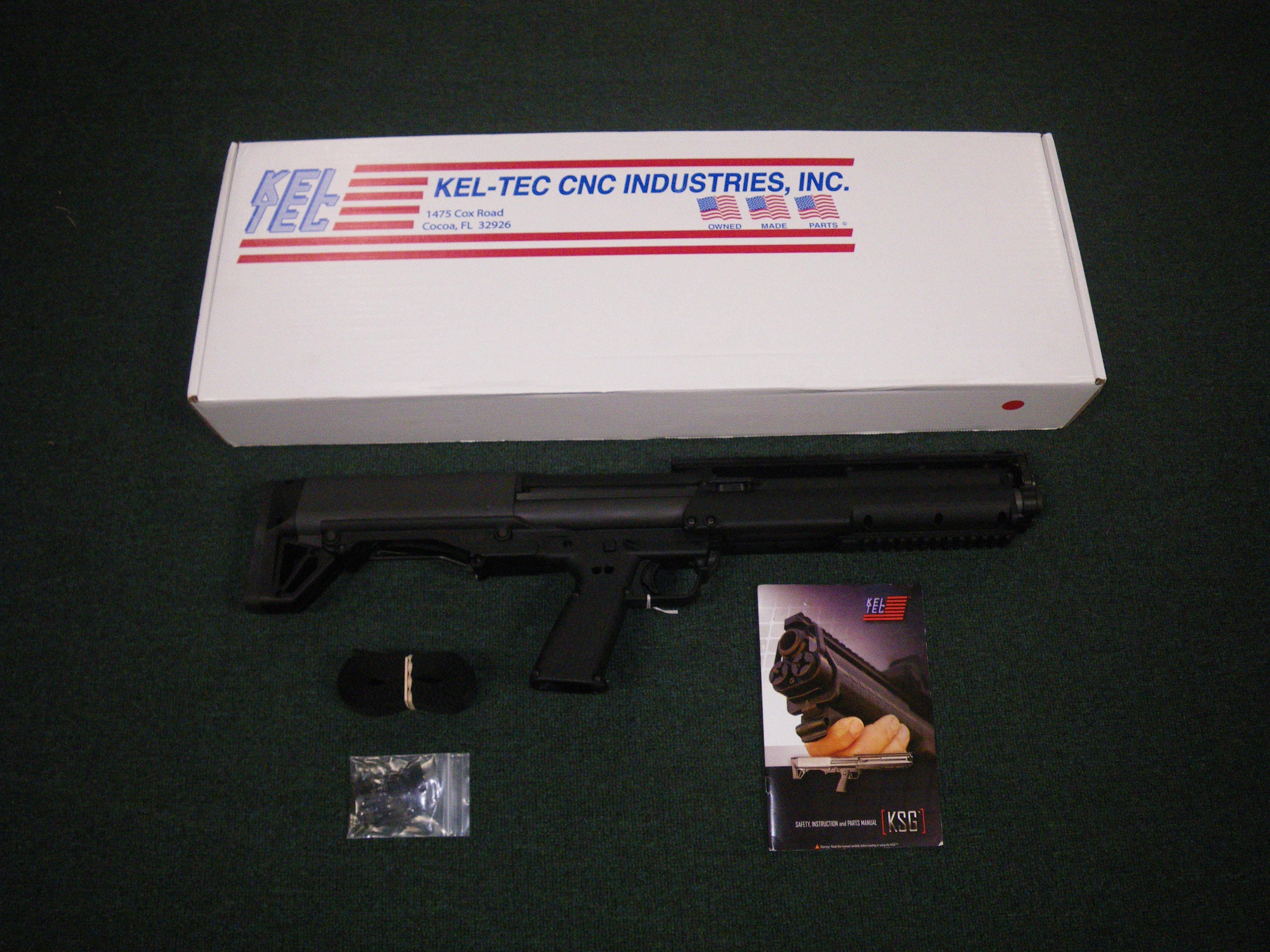 """Kel-Tec KSG Shotgun 12ga 18.5"""" 12+1 Round Black #KSG  Guns > Shotguns > Kel-Tec Shotguns > KSG"""