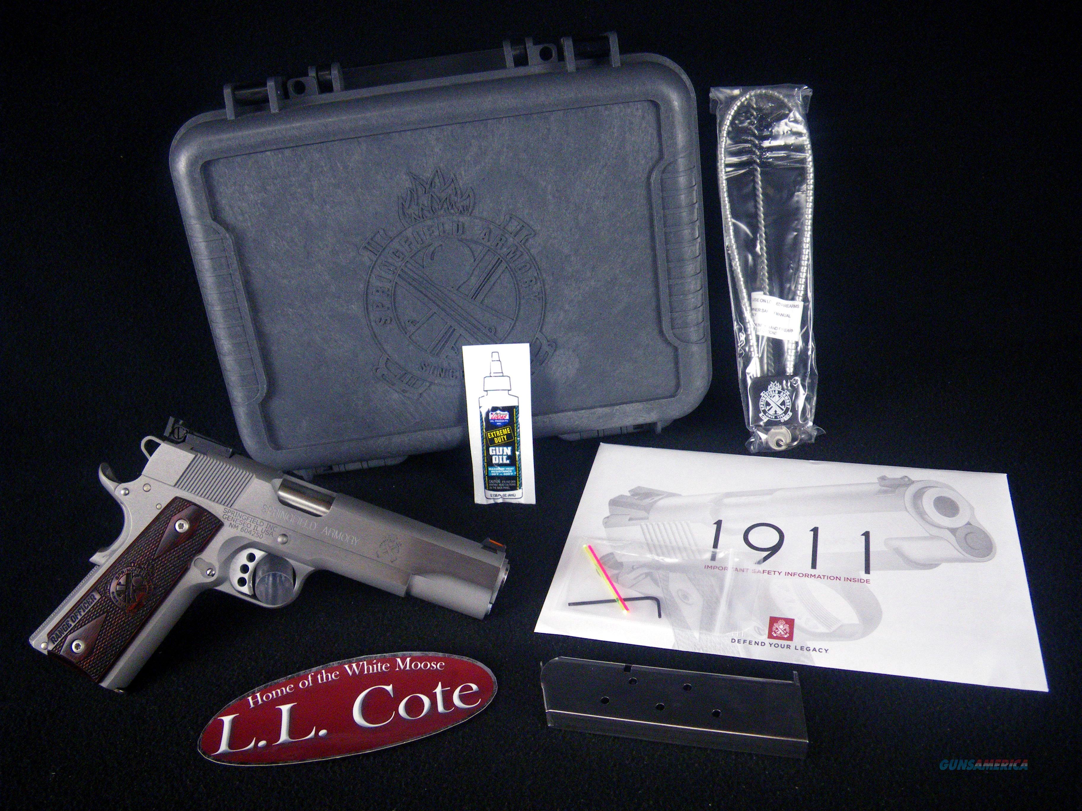 "Springfield 1911 Range Officer 45ACP 5"" NEW PI9124L  Guns > Pistols > Springfield Armory Pistols > 1911 Type"