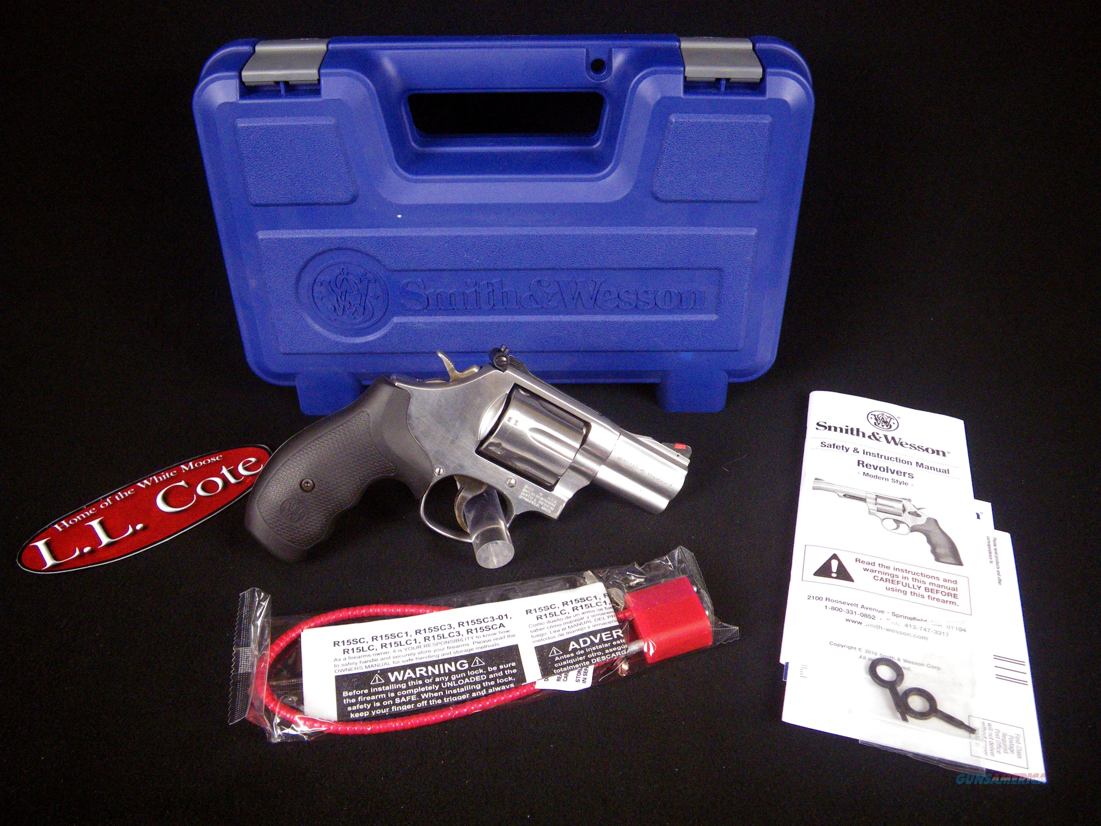 "Smith & Wesson Model 686 Plus 357 Magnum 2.5"" NEW 164192  Guns > Pistols > Smith & Wesson Revolvers > Med. Frame ( K/L )"