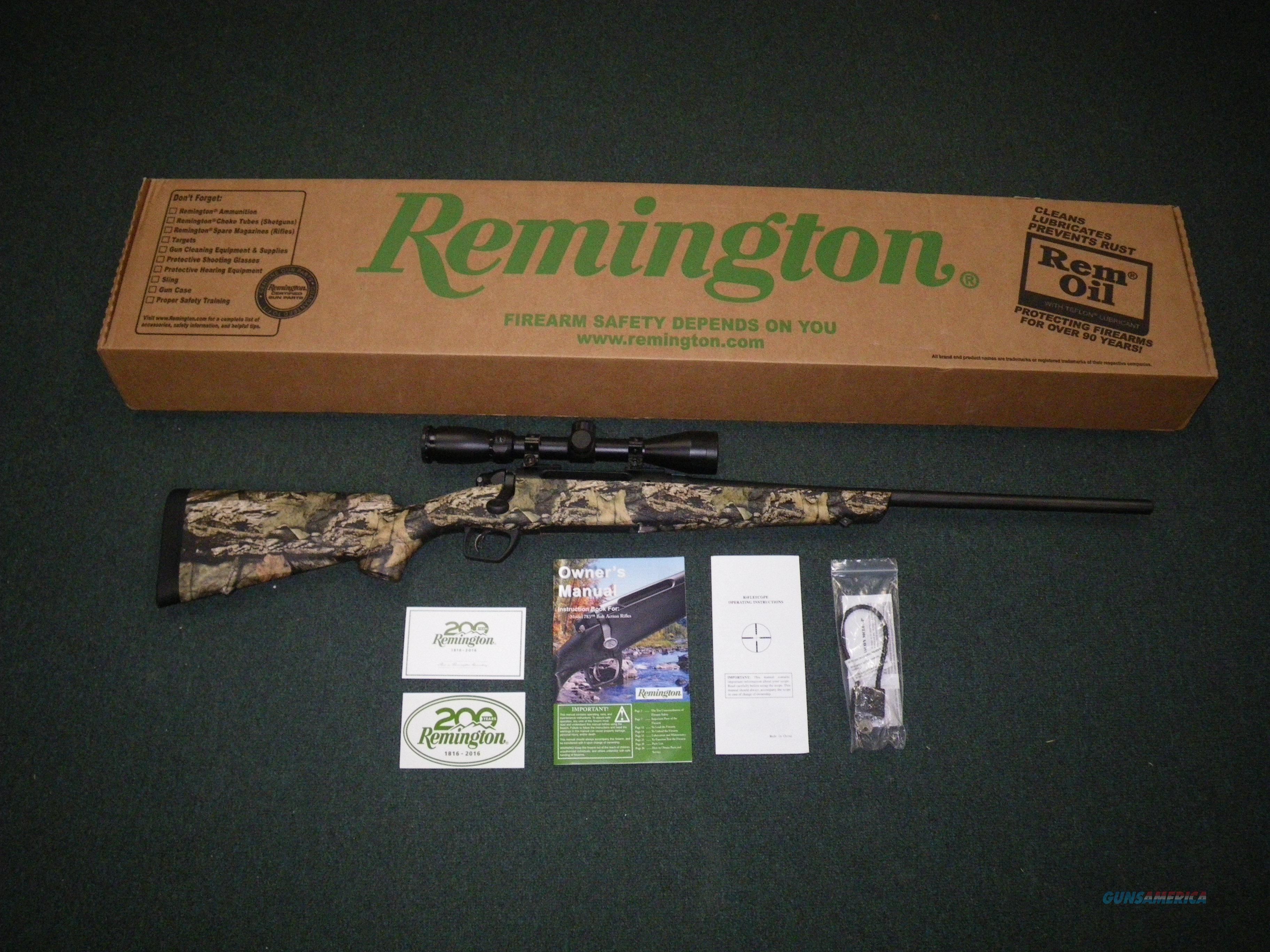 "Remington Model 783 MOBU Scoped 30-06 Spfld 22"" NEW #85753  Guns > Rifles > Remington Rifles - Modern > Other"