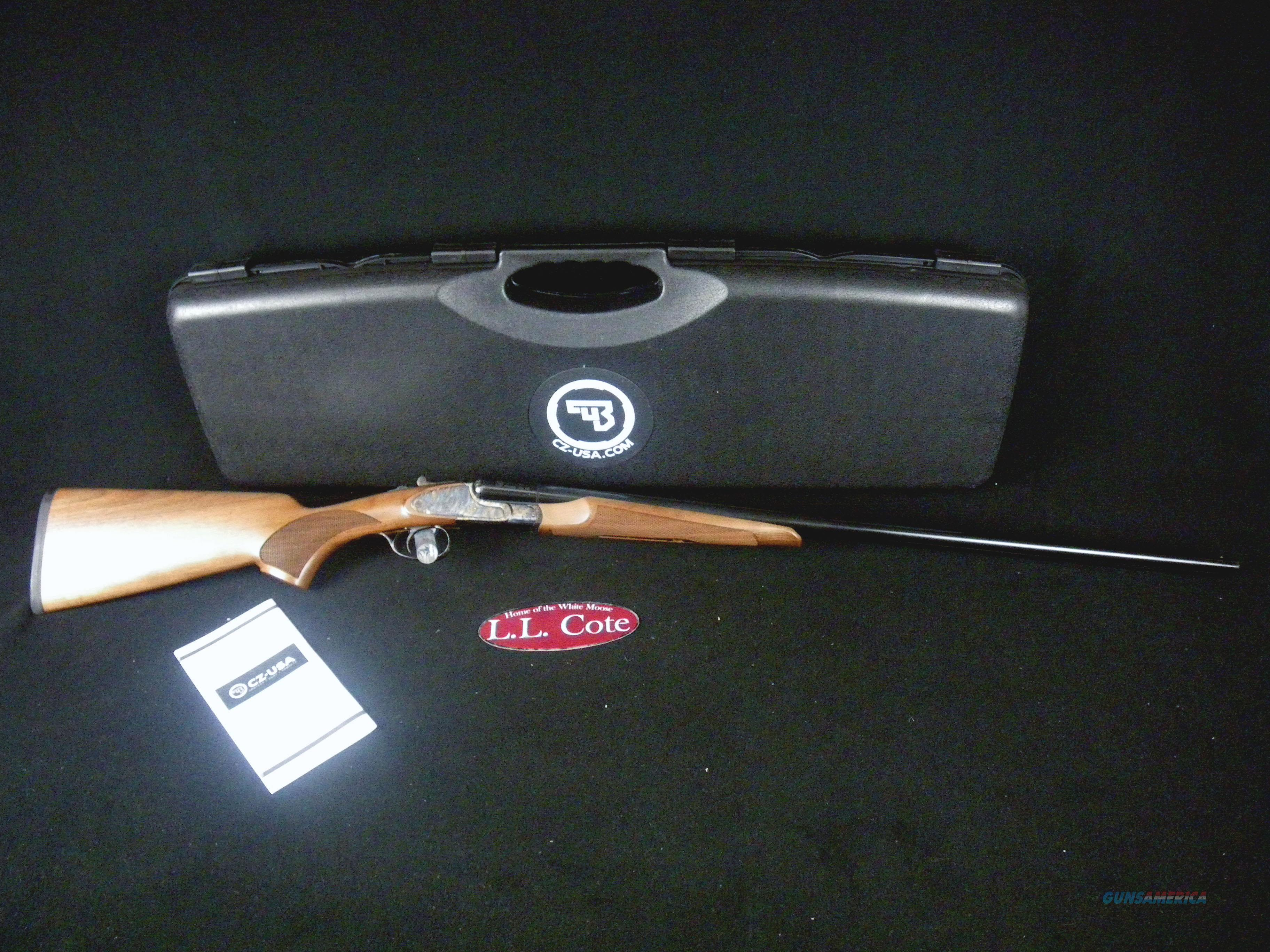 "CZ Sharp-Tail 410ga 28"" Side by Side NEW 06407  Guns > Shotguns > CZ Shotguns"