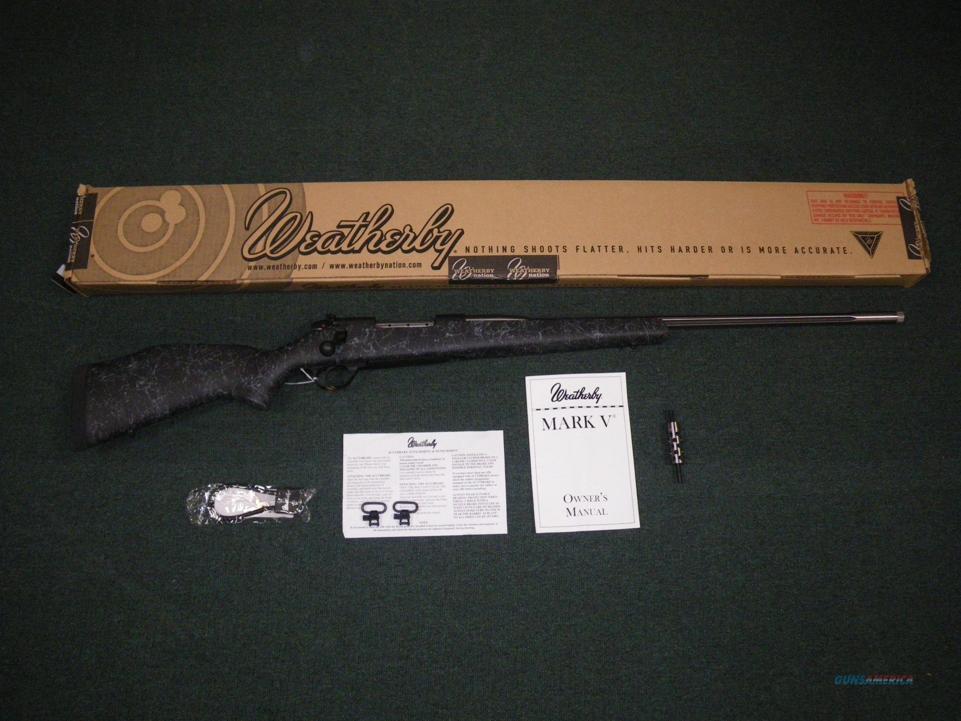 "Weatherby Mark V Accumark 30-378 Wby Mag 26"" NEW #MAMM303WR8B  Guns > Rifles > Weatherby Rifles > Sporting"