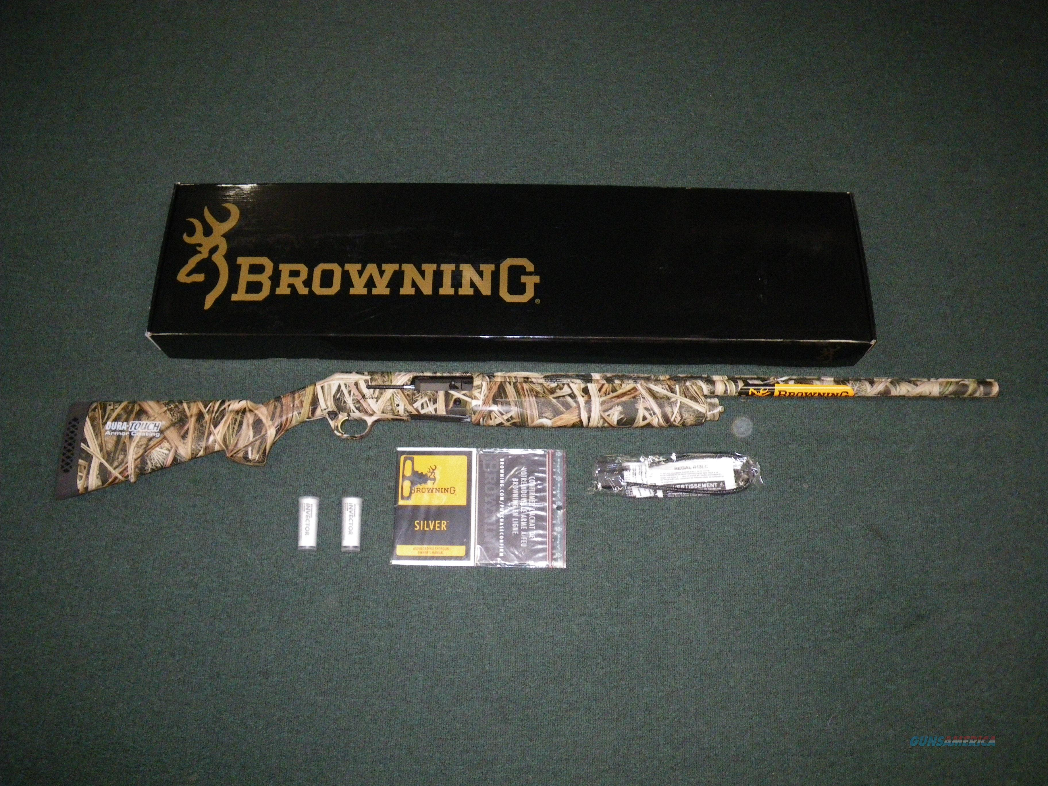 "Browning Silver 12ga 28"" Mossy Oak Shadow Grass NEW #011403204  Guns > Shotguns > Browning Shotguns > Autoloaders > Hunting"