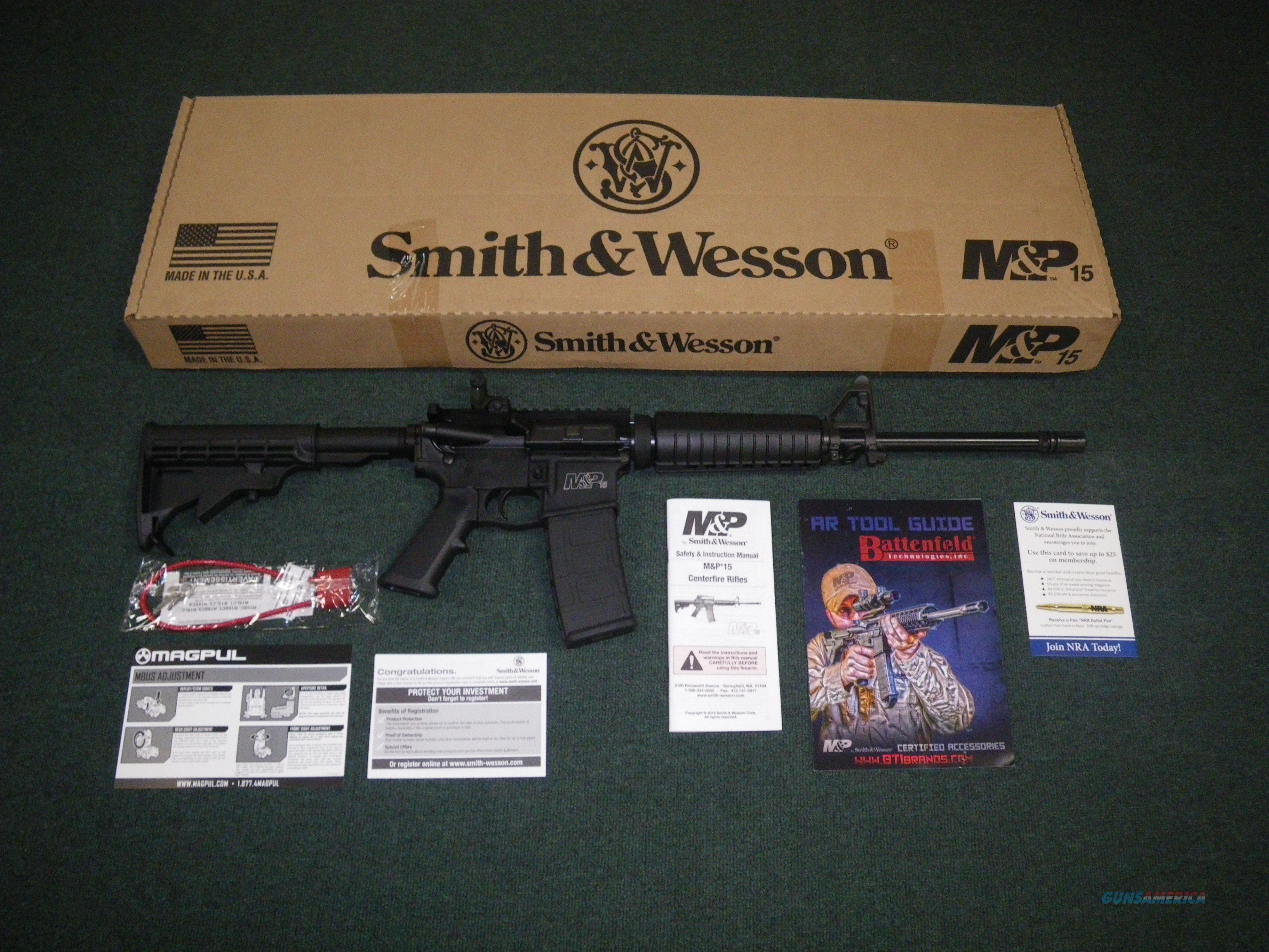 "Smith & Wesson M&P 15 Sport II 5.56/223 16"" NEW #10202  Guns > Rifles > Smith & Wesson Rifles > M&P"