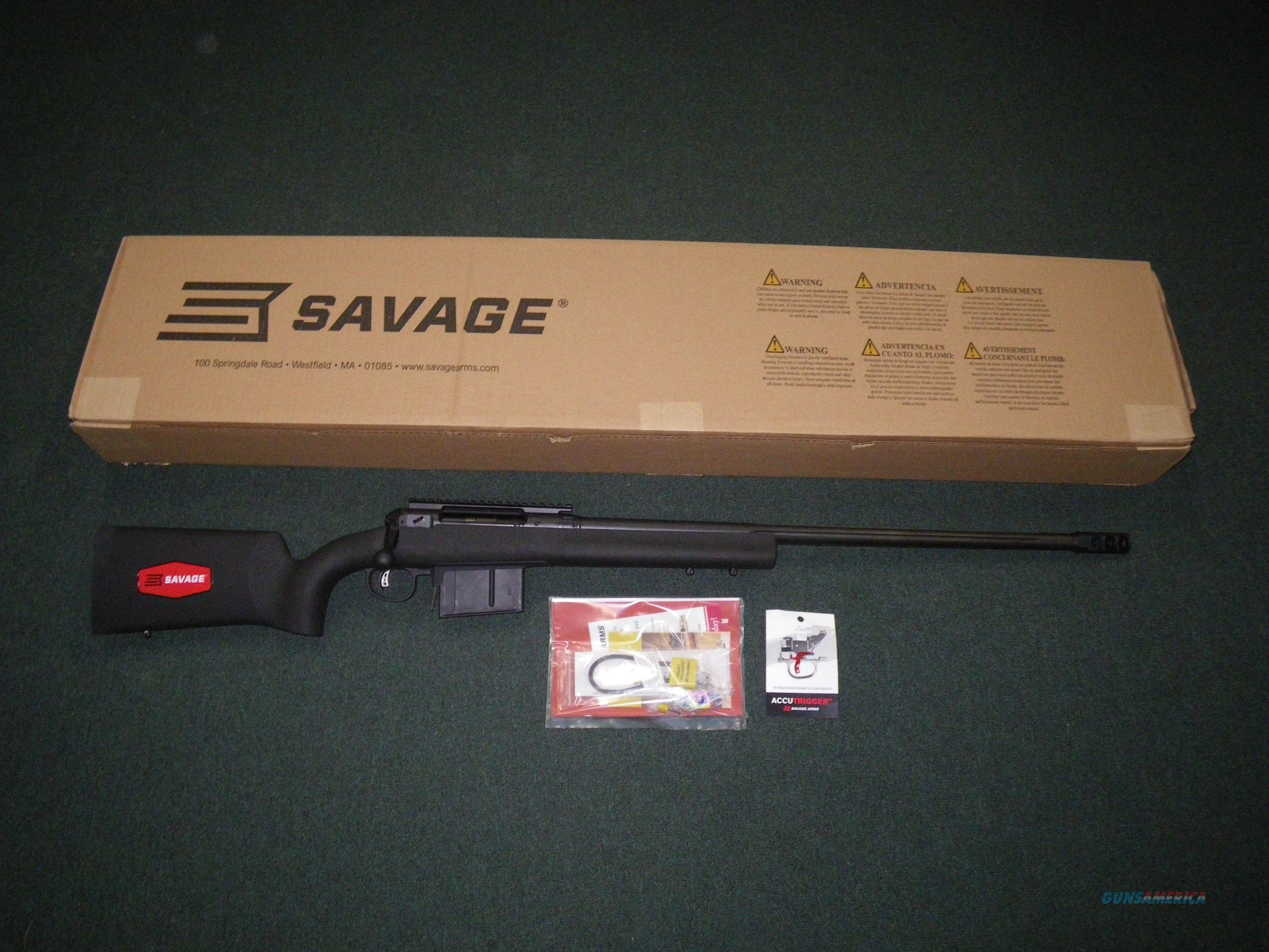 "Savage 10/110 FCP HS Precision 338 Lapua 26"" NEW #19481  Guns > Rifles > Savage Rifles > 10/110"