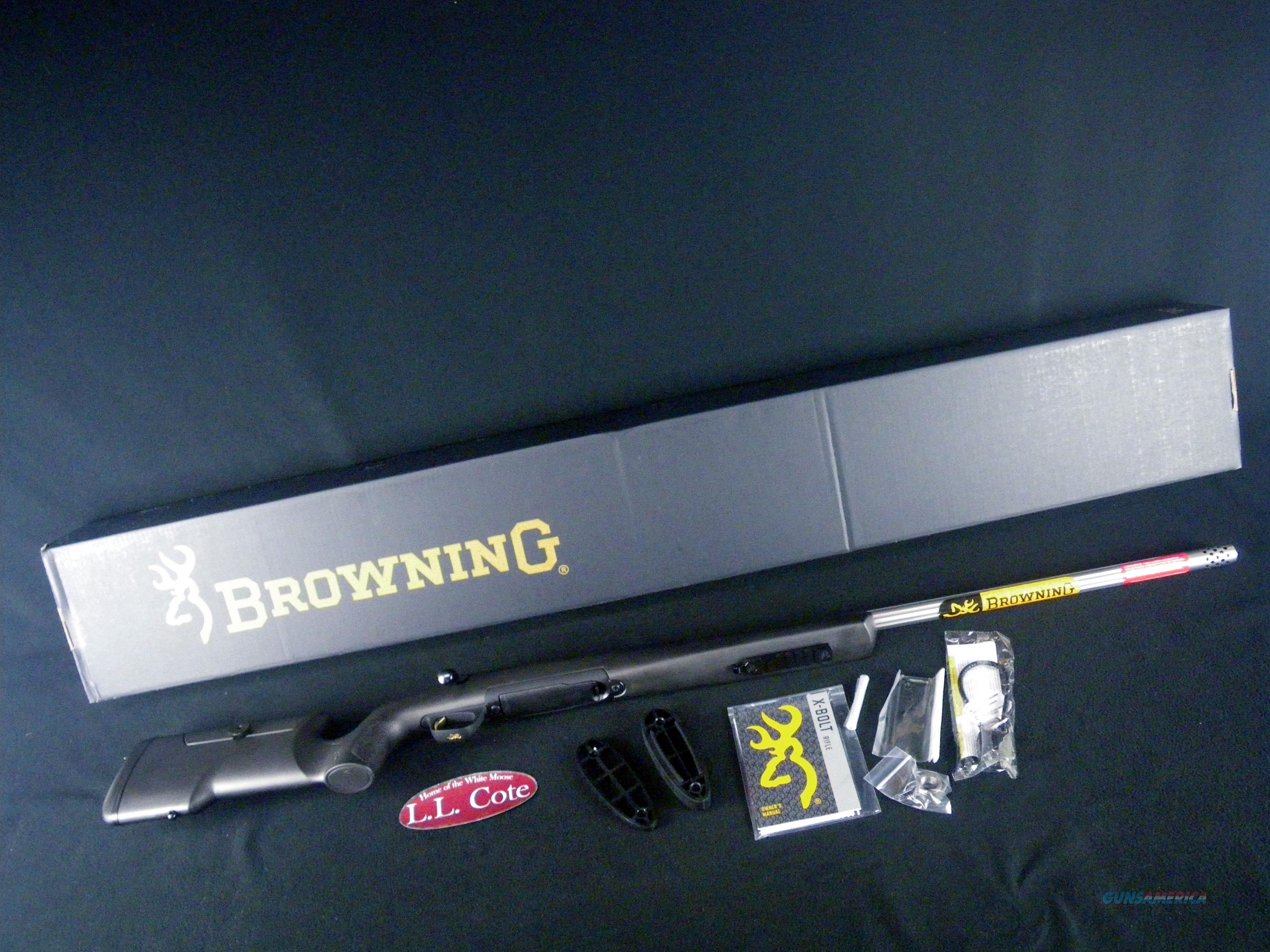 "Browning X-Bolt Max Varmint/Target 6.5 Creed 26"" NEW 035483282  Guns > Rifles > Browning Rifles > Bolt Action > Hunting > Blue"