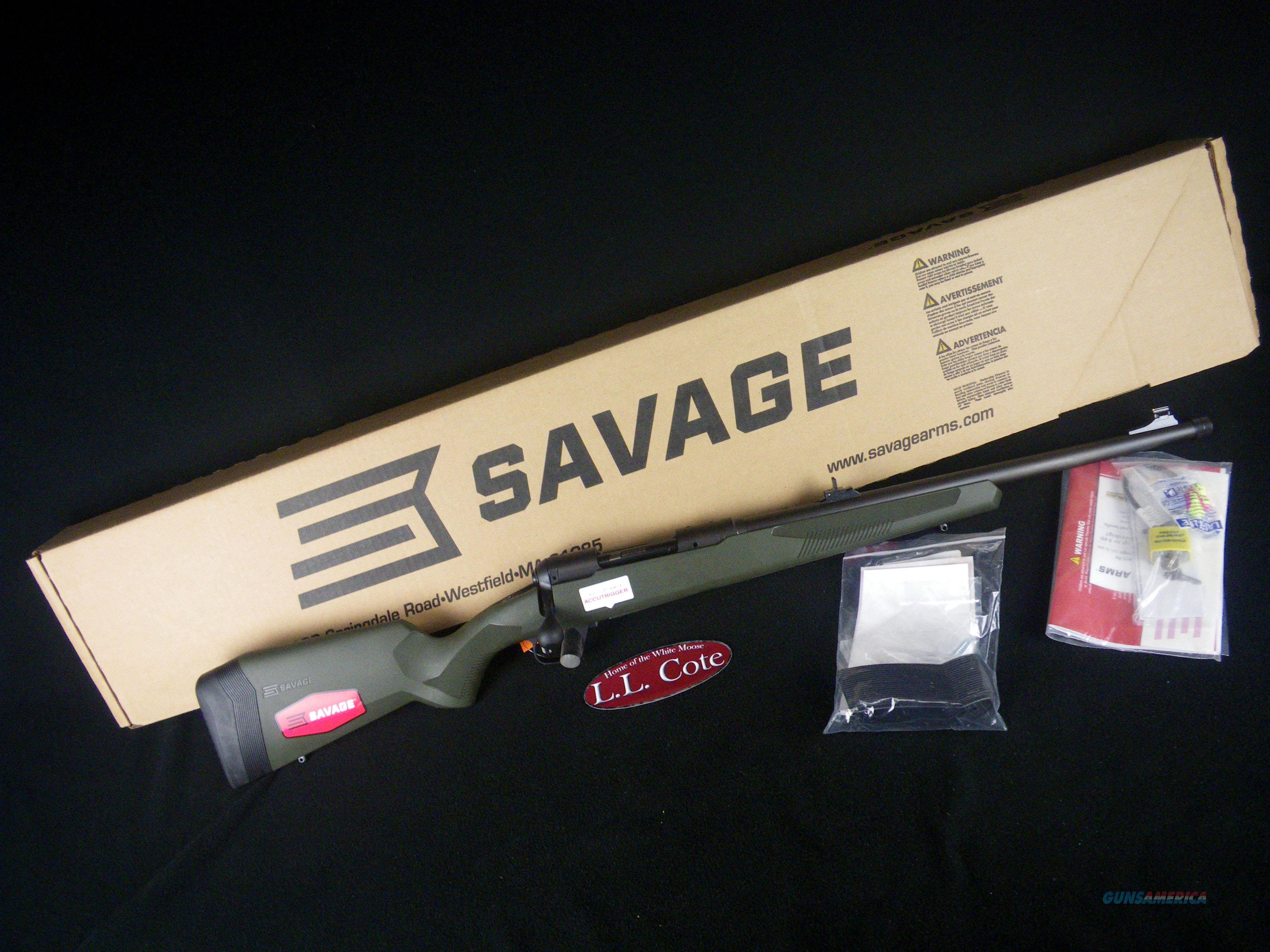"Savage 110 Hog Hunter 308 Win 20"" Threaded NEW 57019  Guns > Rifles > Savage Rifles > 10/110"