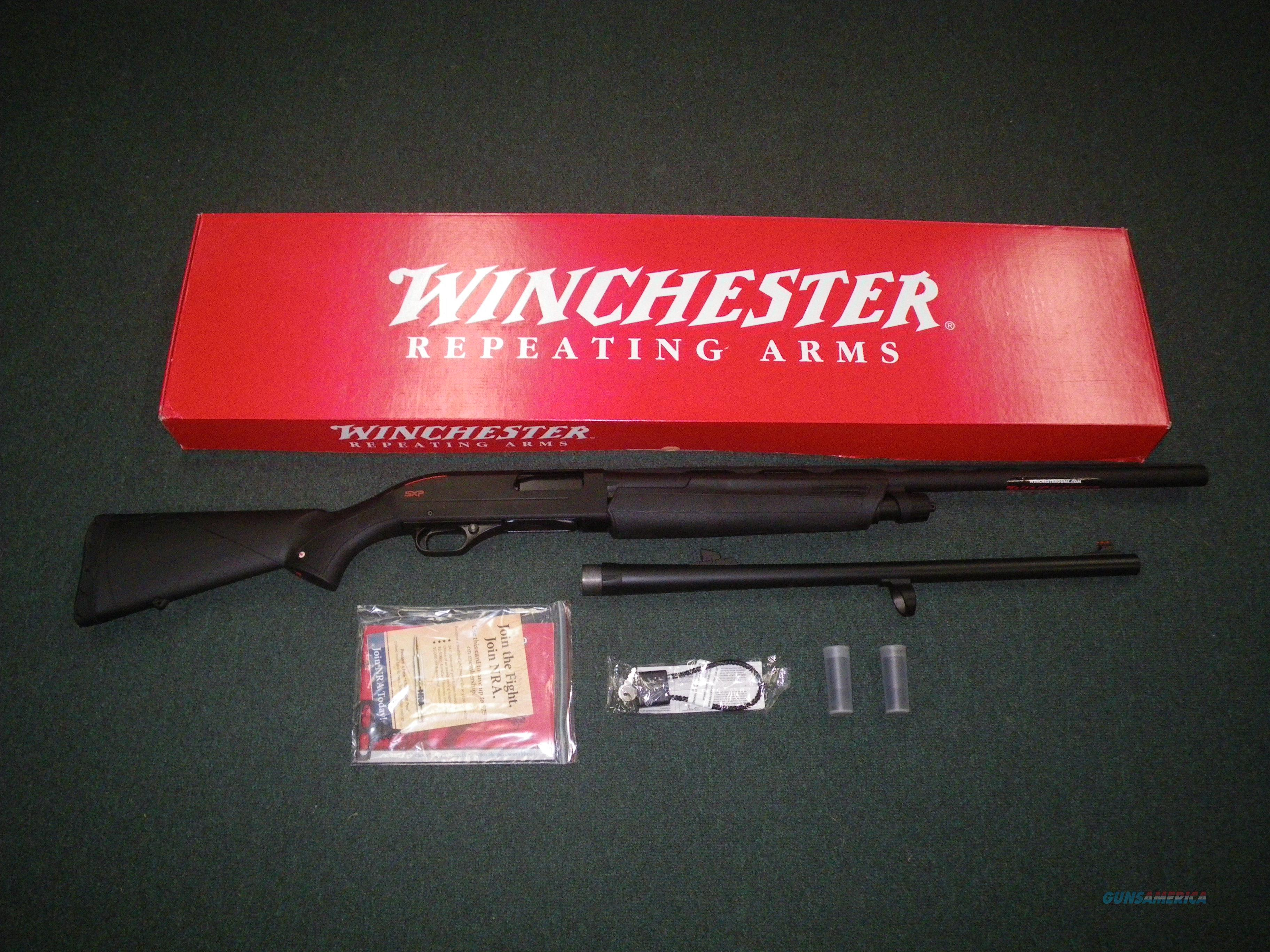 "Winchester SXP Buck/Bird Combo 12ga 26"" NEW 3"" 512274391  Guns > Shotguns > Winchester Shotguns - Modern > Pump Action > Hunting"