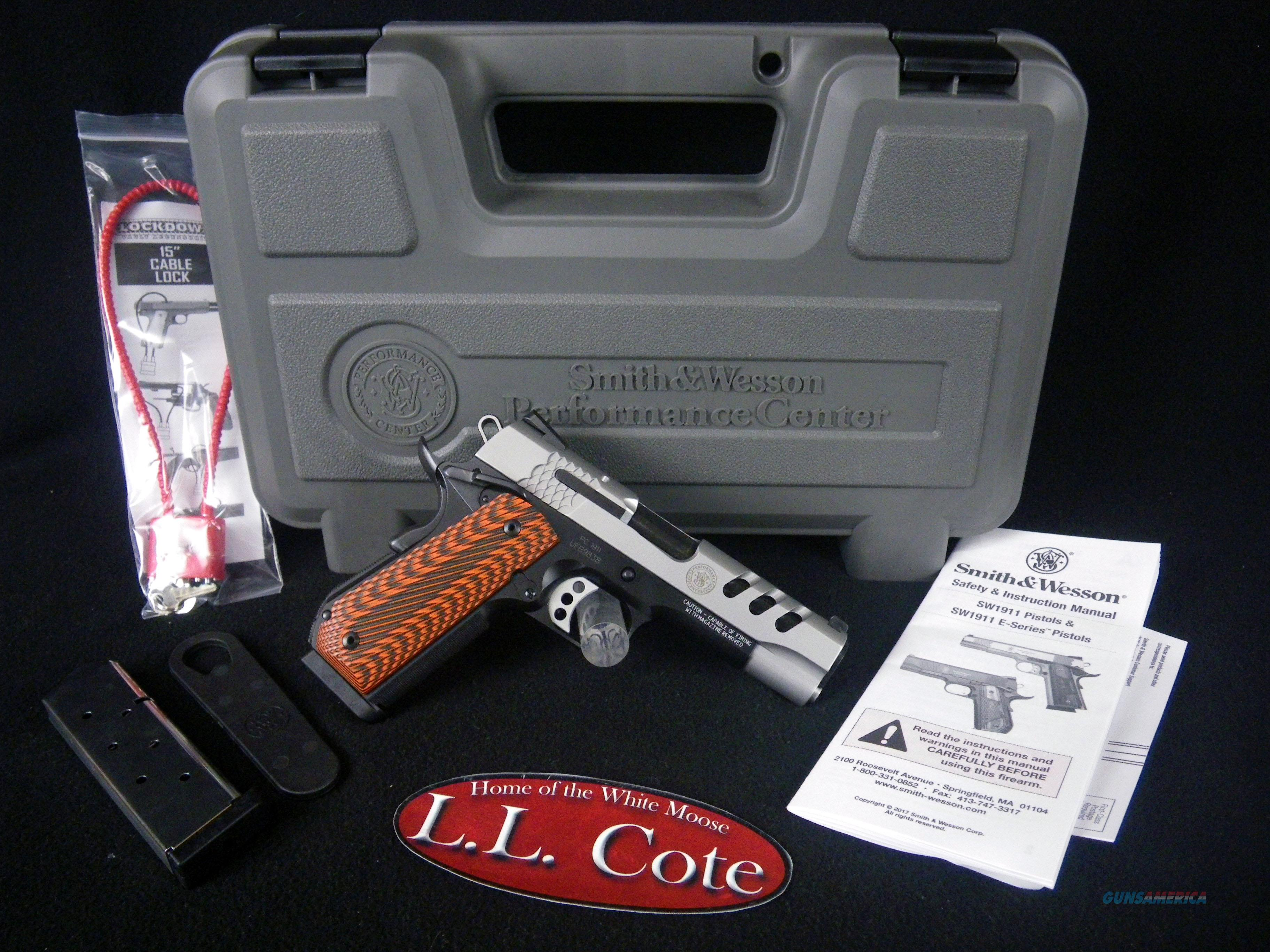 """Smith & Wesson Perf Center SW1911 45ACP 4.25"""" NEW 170344  Guns > Pistols > Smith & Wesson Pistols - Autos > Polymer Frame"""