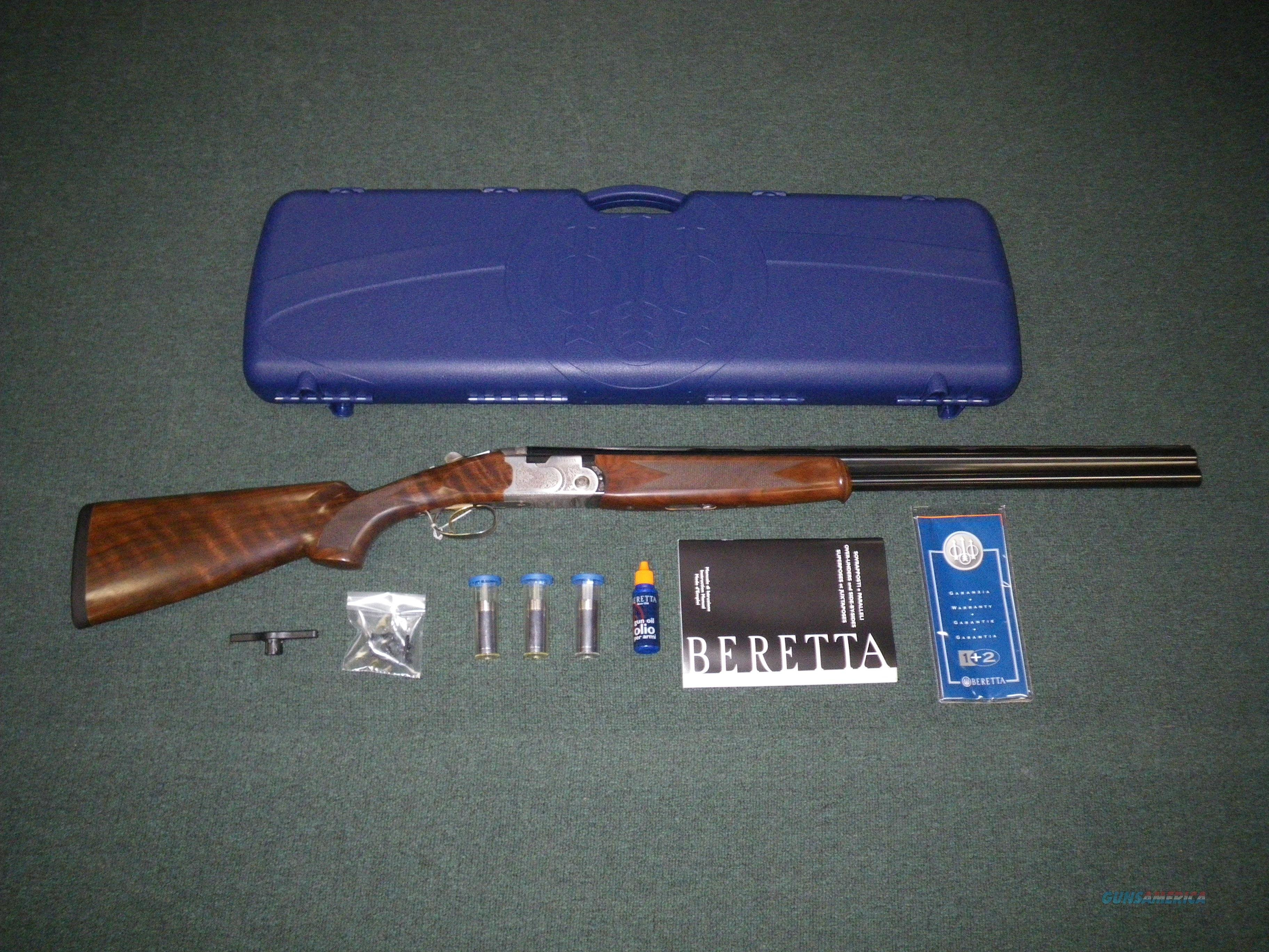 "Beretta 686 Silver Pigeon I 12ga 28"" Over Under J6863J8  Guns > Shotguns > Beretta Shotguns > O/U > Hunting"