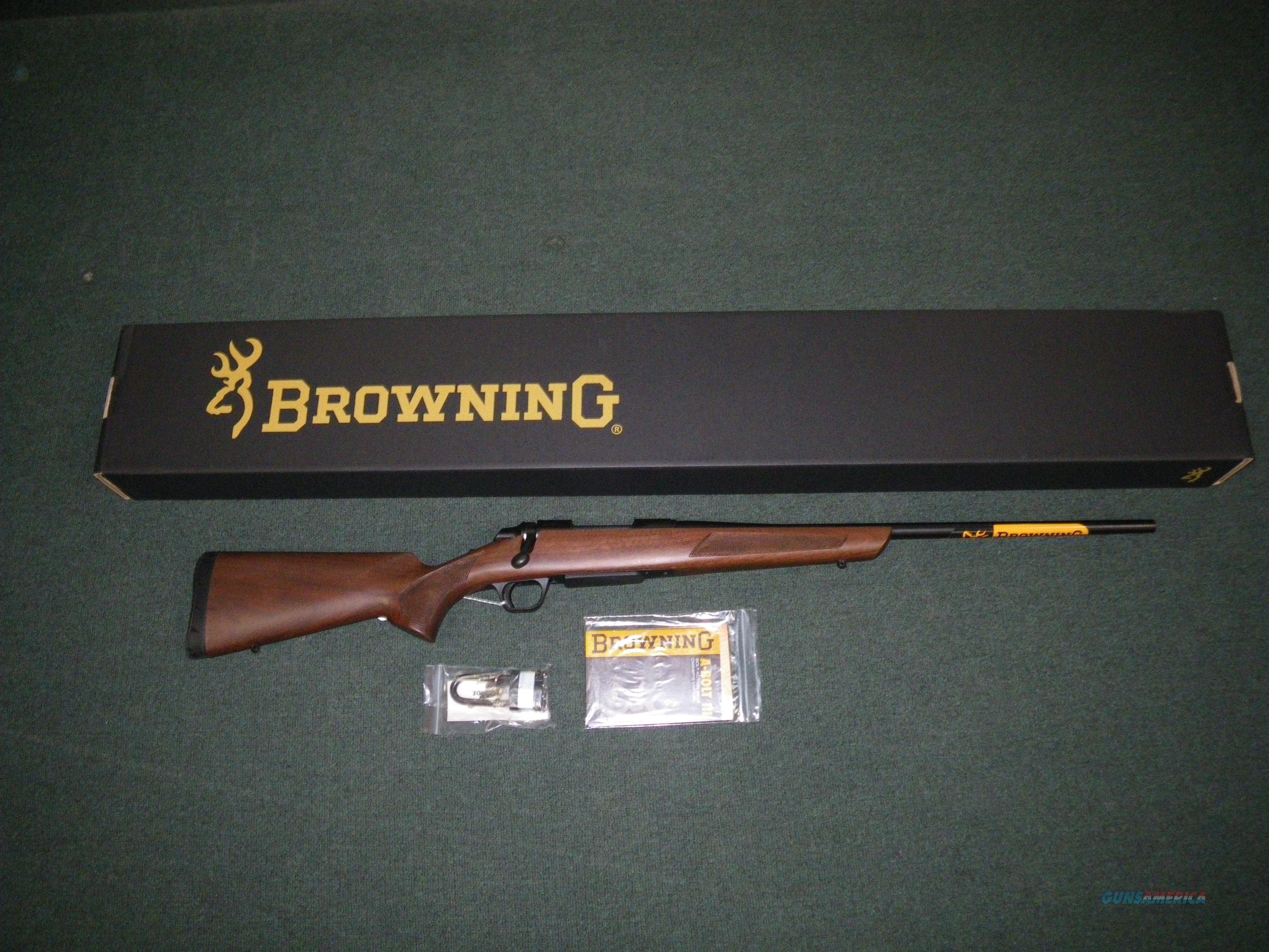 "Browning A-Bolt 3 Hunter 7mm-08 Rem 22"" #035801216  Guns > Rifles > Browning Rifles > Bolt Action > Hunting > Blue"
