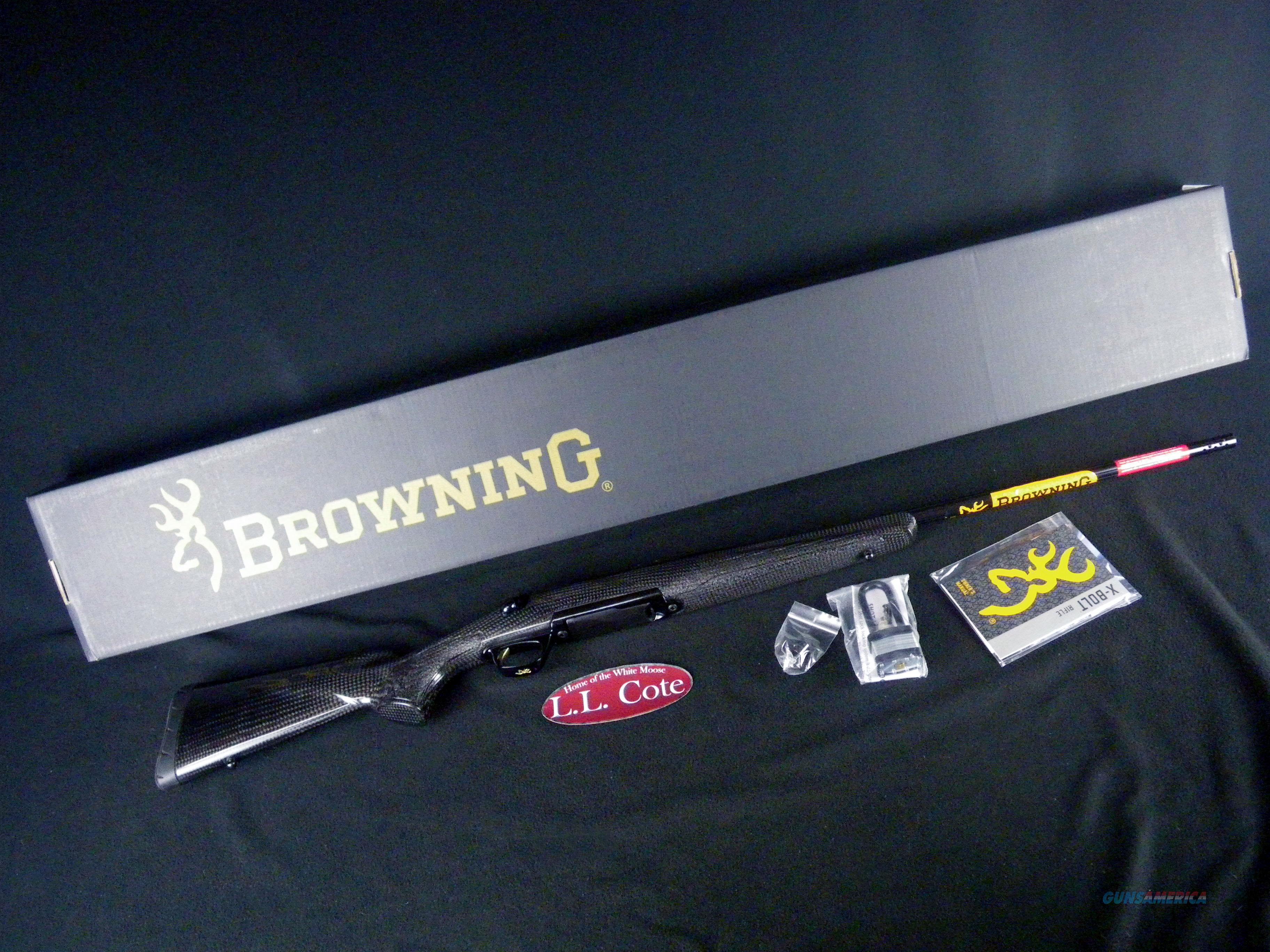 "Browning X-Bolt Medallion Carbon Fiber 6.5 Creed 22"" 035425282  Guns > Rifles > Browning Rifles > Bolt Action > Hunting > Blue"