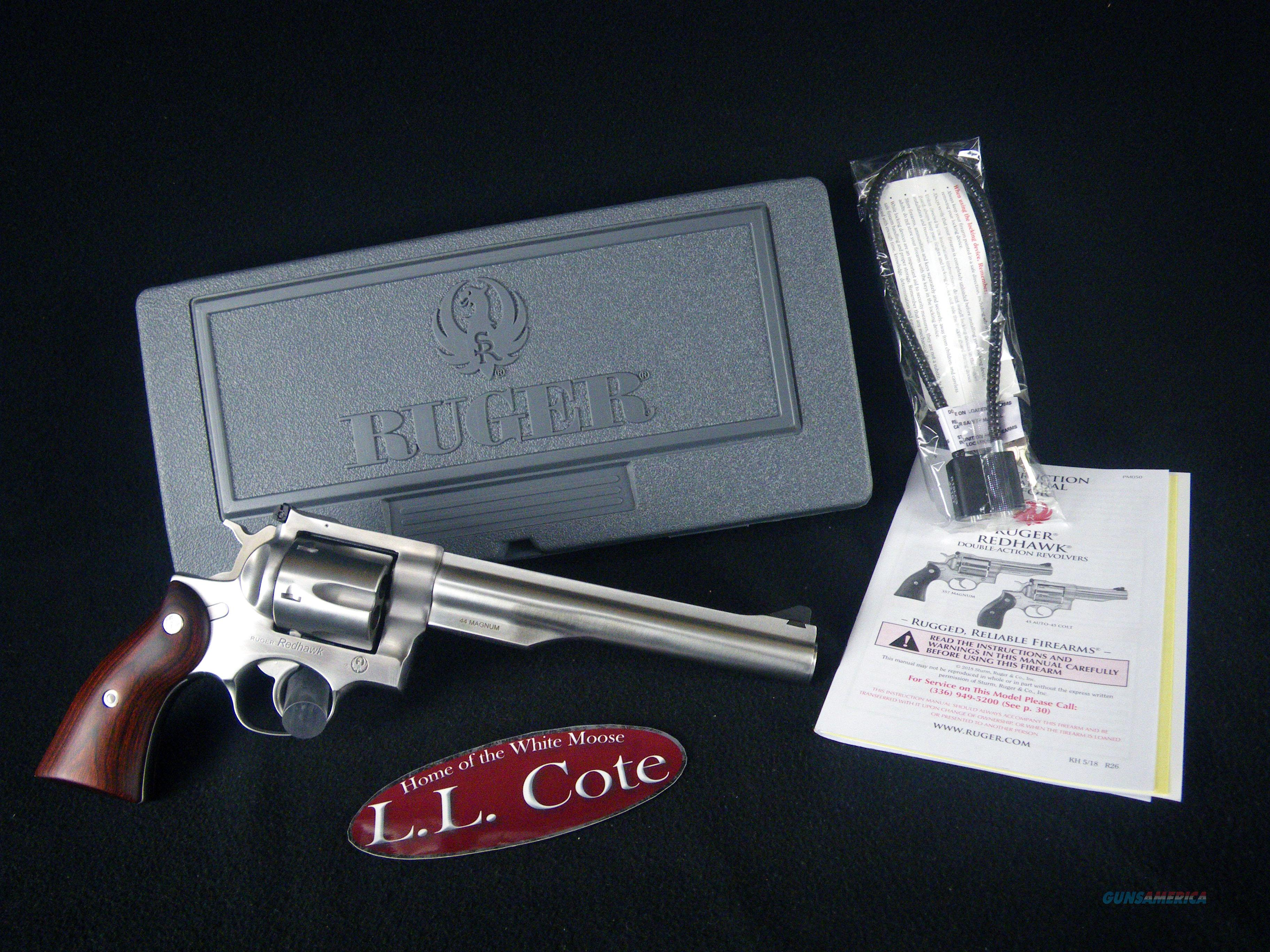 """Ruger Redhawk 44 Mag 7.5"""" NEW Stainless 5041  Guns > Pistols > Ruger Double Action Revolver > Redhawk Type"""