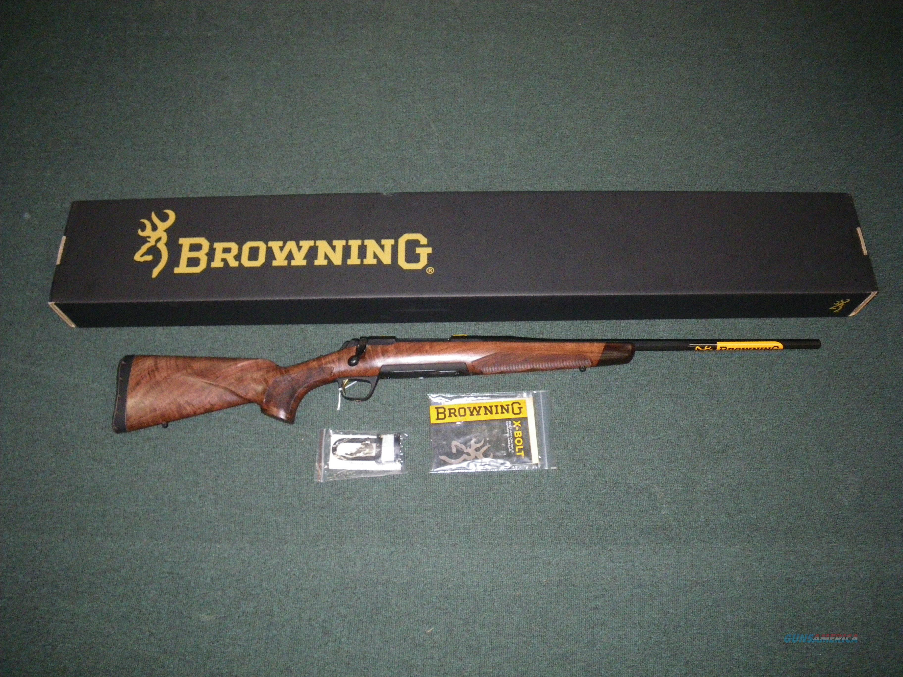 "Browning X-Bolt High Grade Hunter 300 WSM 23"" Octagon #035341246  Guns > Rifles > Browning Rifles > Bolt Action > Hunting > Blue"