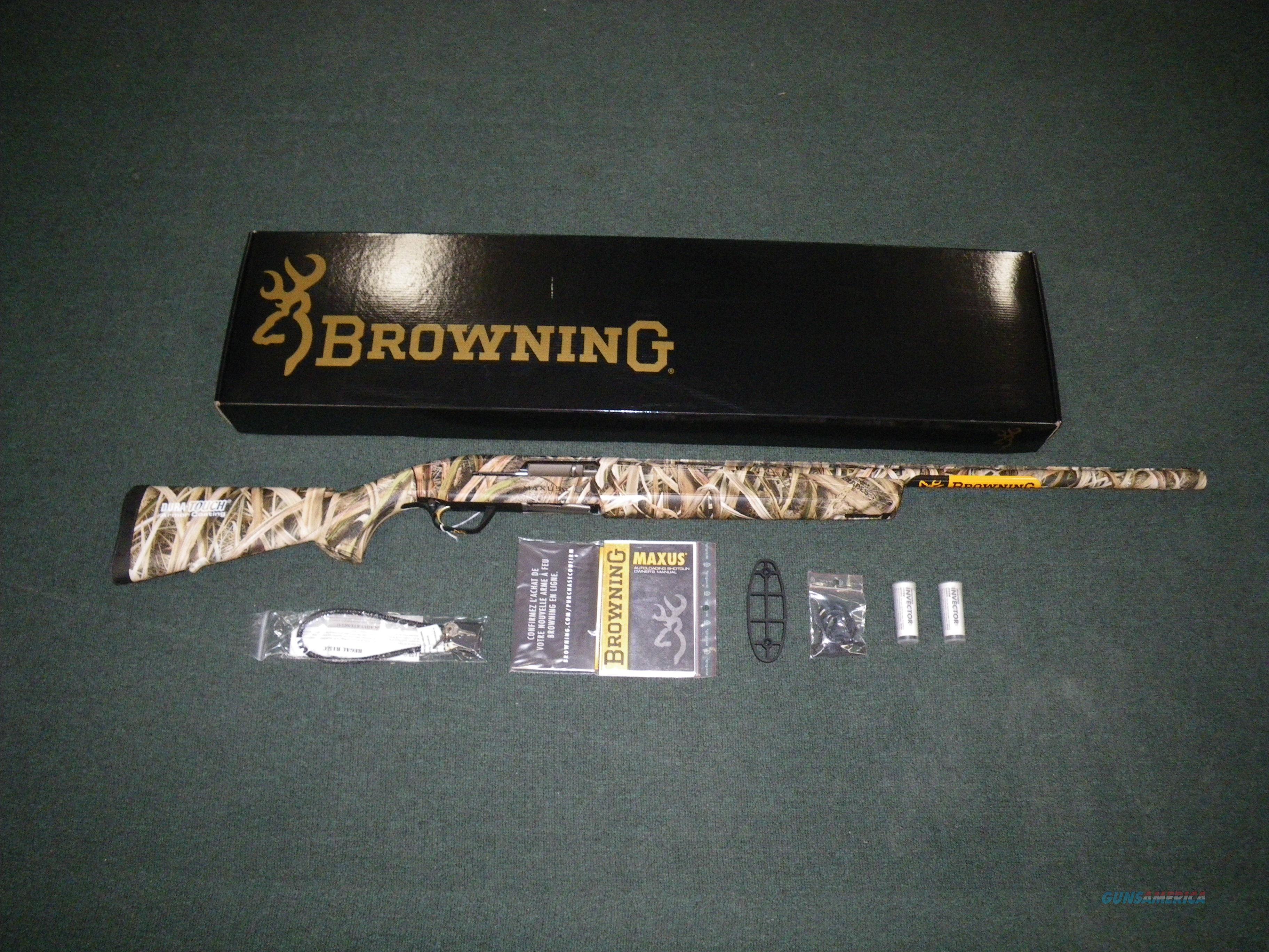 """Browning Maxus Mossy Oak Shadow Grass 12ga 28"""" NEW 011645204  Guns > Shotguns > Browning Shotguns > Autoloaders > Hunting"""