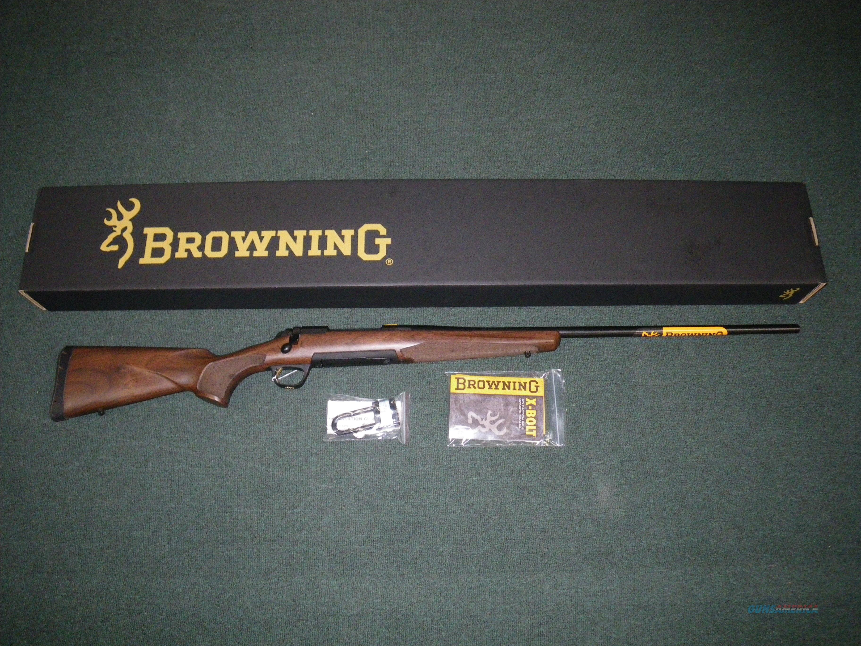 "Browning X-Bolt Hunter Blue/Walnut 338 Win Mag 26"" #035208231  Guns > Rifles > Browning Rifles > Bolt Action > Hunting > Blue"