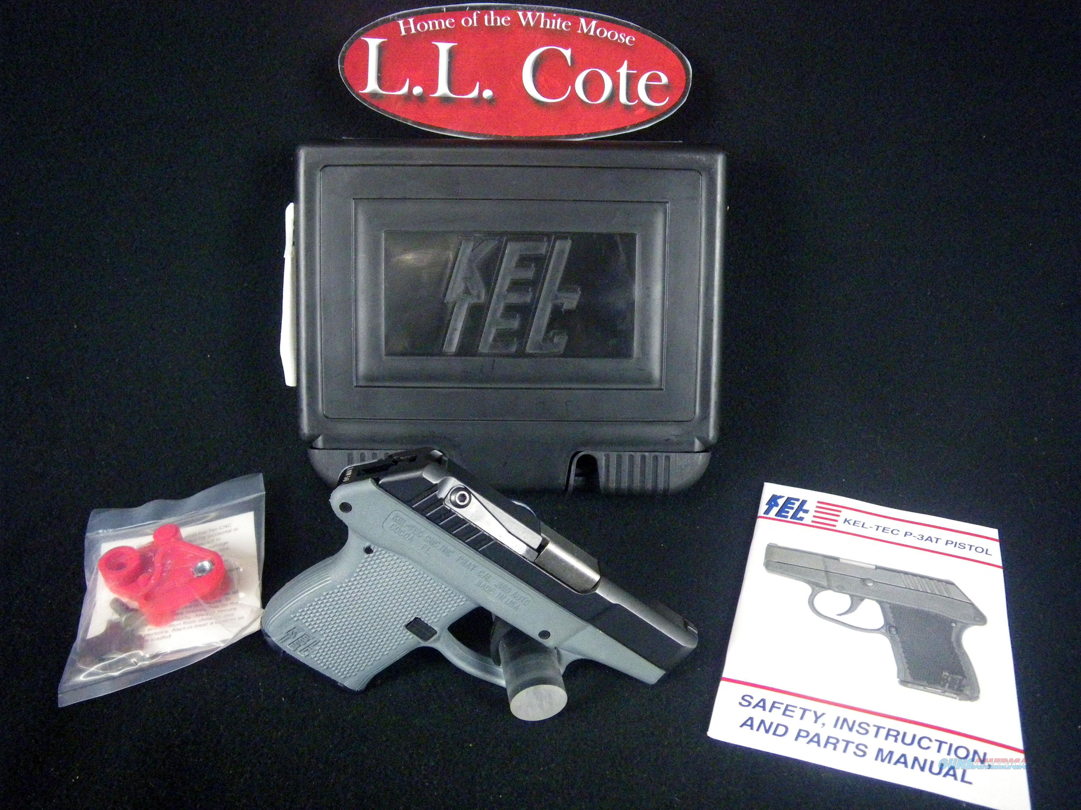 "Kel-Tec P-3AT 380acp 2.75"" Gray NEW Carry P3ATBGRY  Guns > Pistols > Kel-Tec Pistols > Pocket Pistol Type"