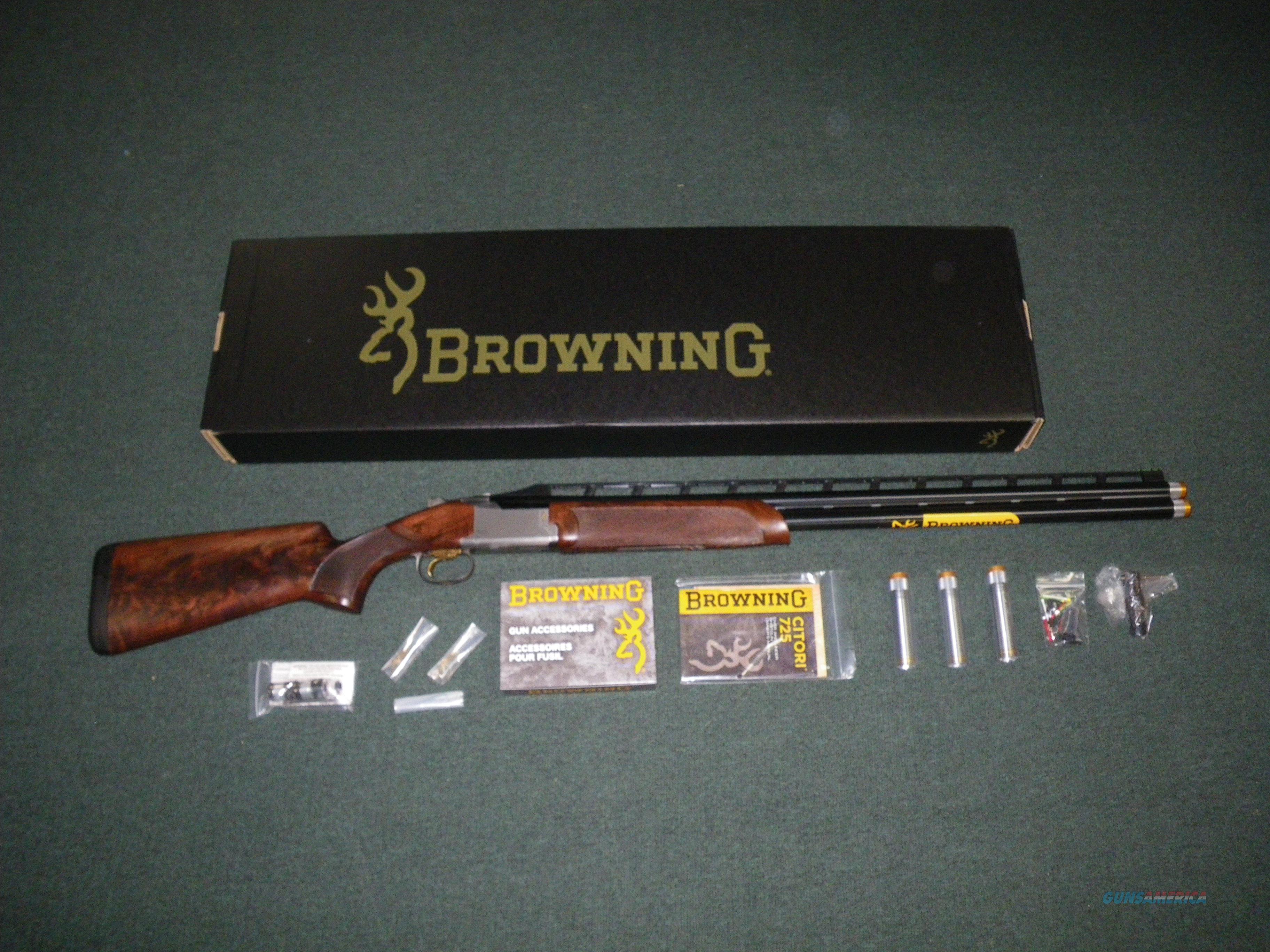 "Browning Citori 725 High Rib Sporting 12ga 32"" NEW #0180553009  Guns > Shotguns > Browning Shotguns > Over Unders > Citori > Hunting"