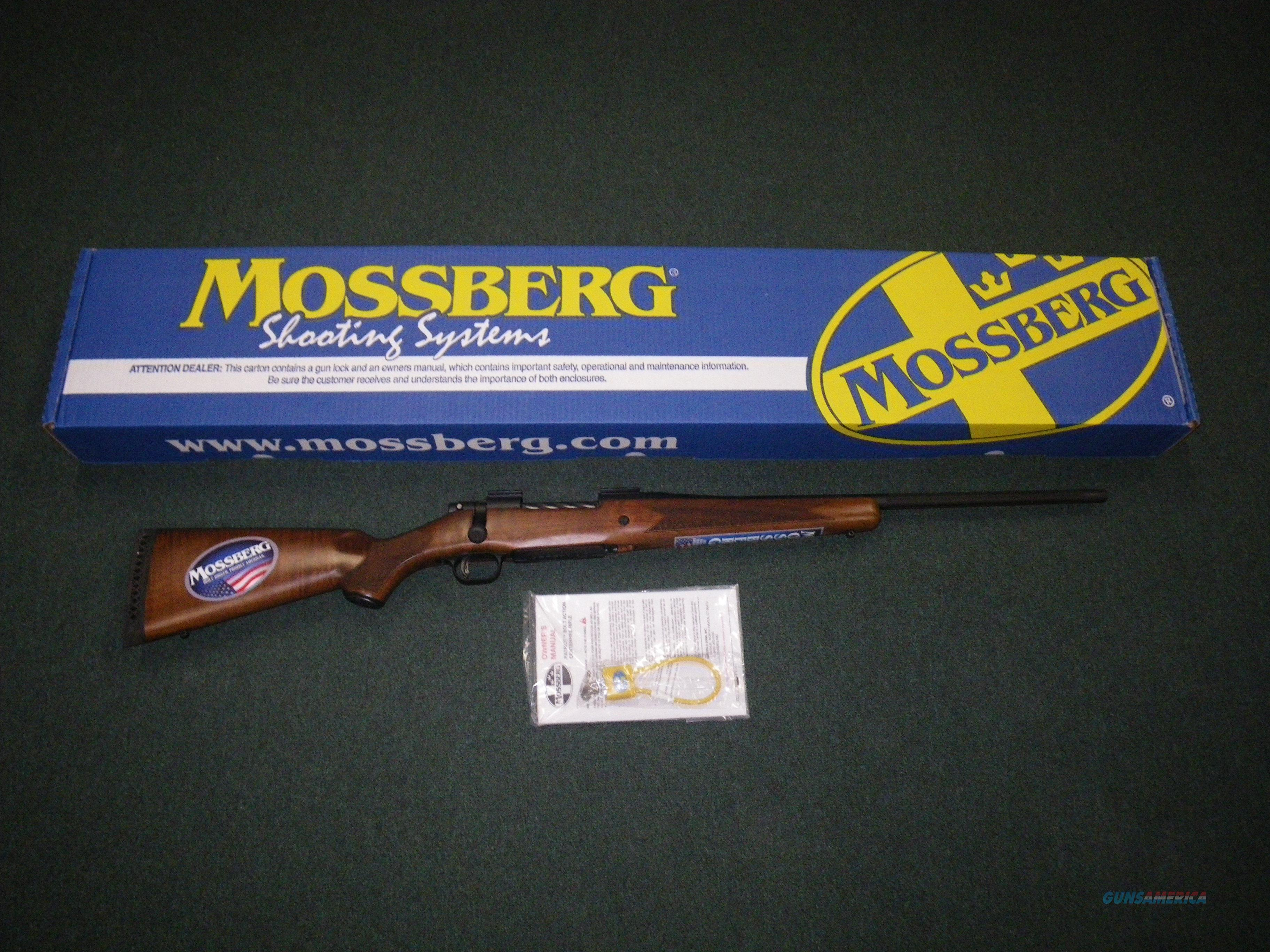 "Mossberg Patriot Walnut 7mm-08 Rem 22"" Fluted NEW #27849  Guns > Rifles > Mossberg Rifles > Patriot"
